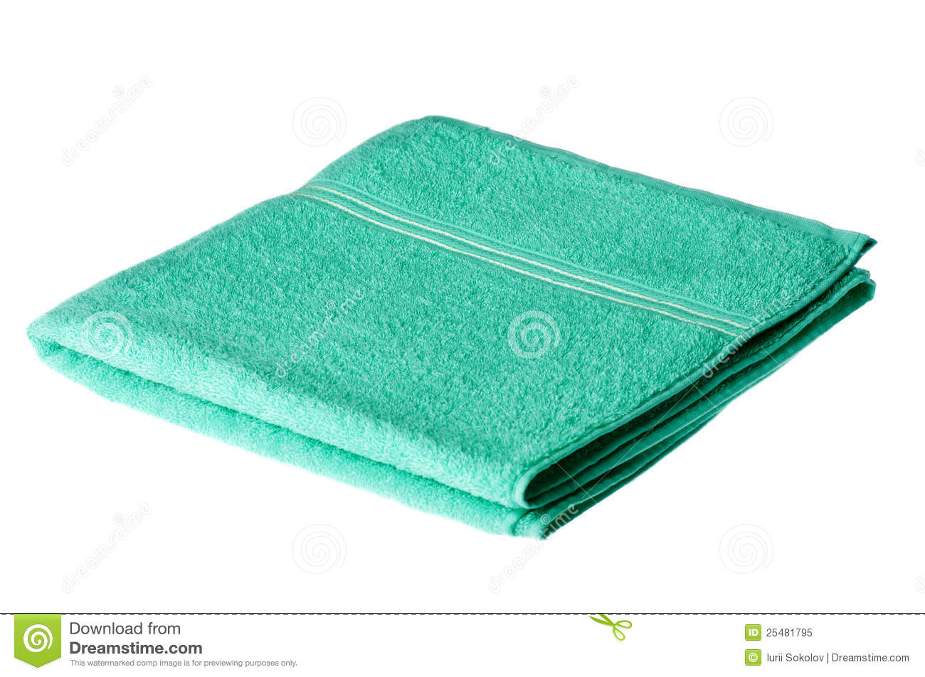 Folded Bath Towel Royalty Free Stock Photo Image 25481795