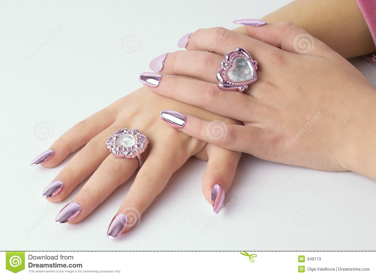 Folded beautiful hands stock image. Image of finger, detail - 349113