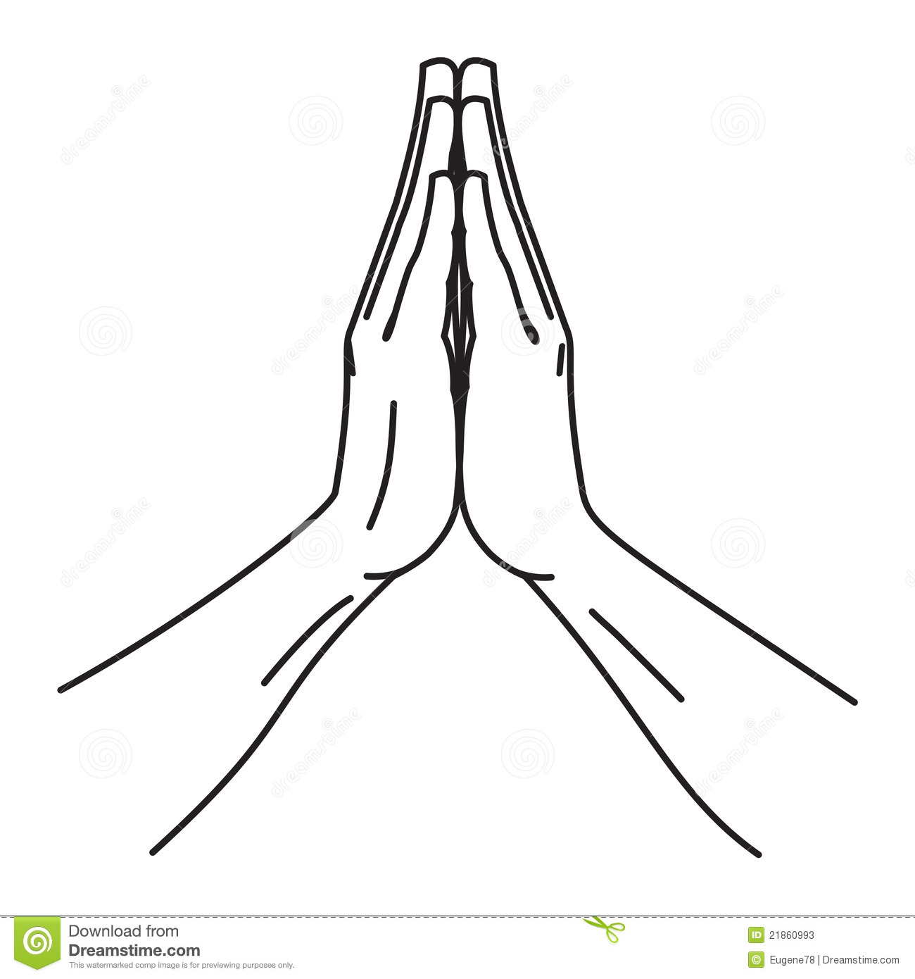 folded hands stock photos image 21860993 clip art praying hands child's clip art praying hands and cross