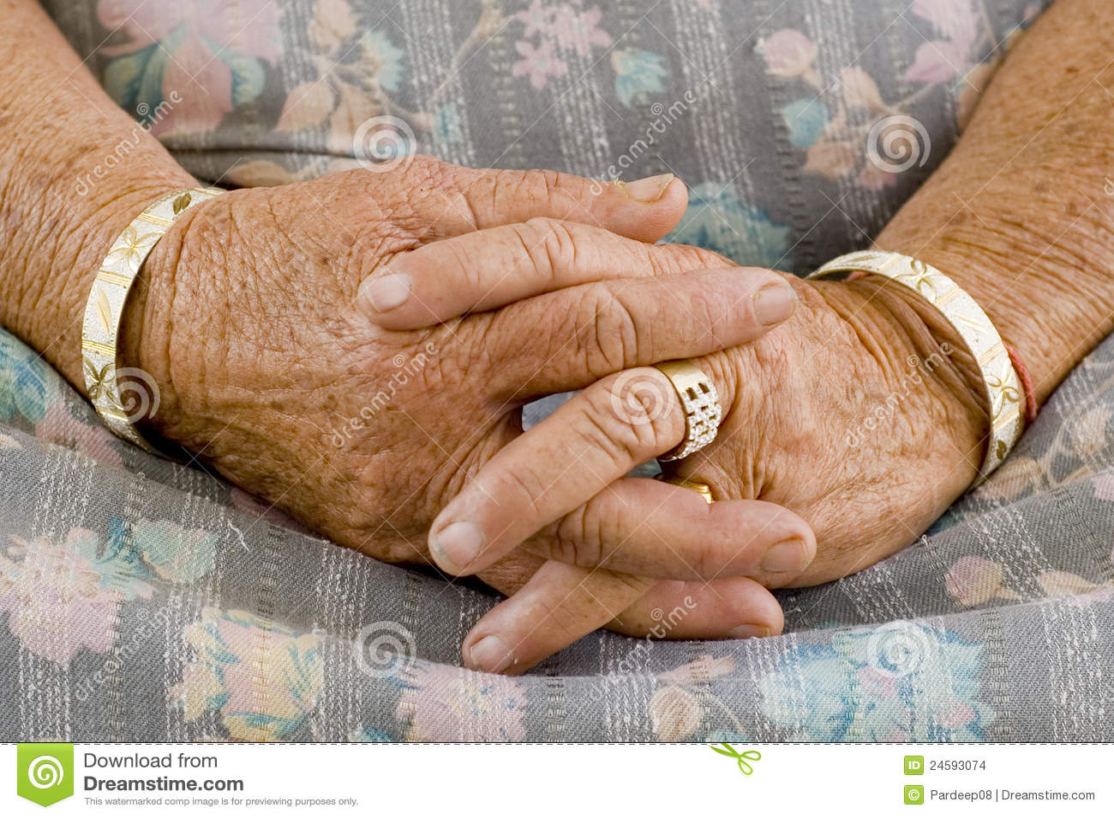 Folded Hands Folded hands
