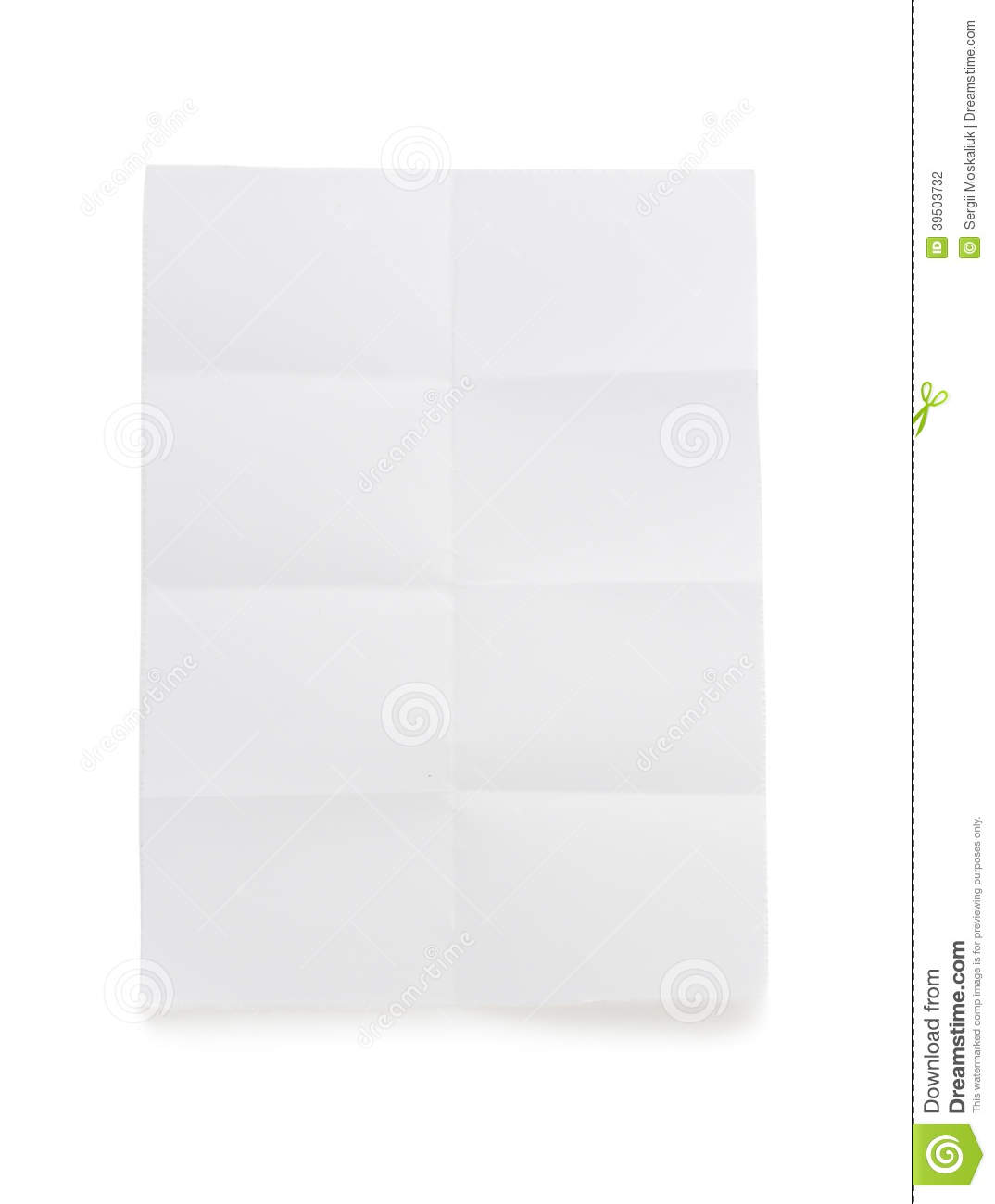 folded note paper on white stock photo image of school 39503732