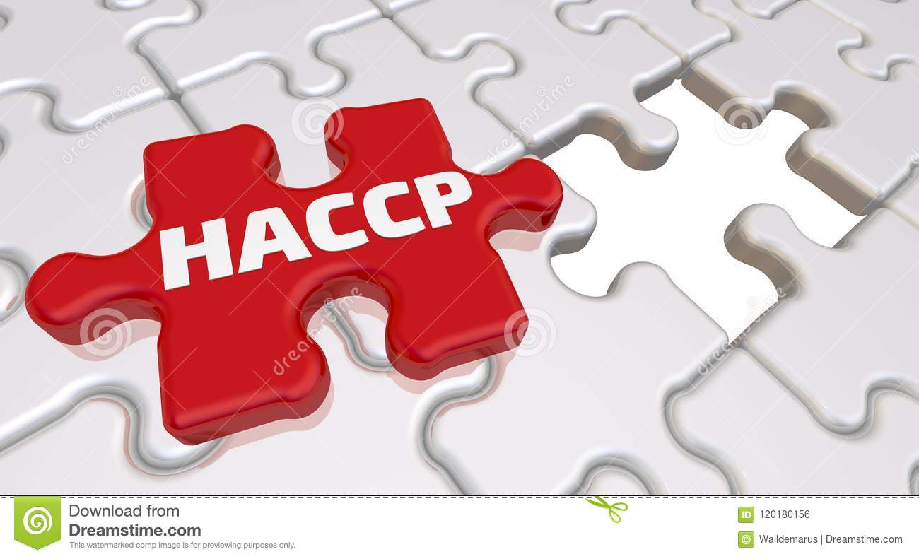 HACCP  The Inscription On The Missing Element Of The Puzzle
