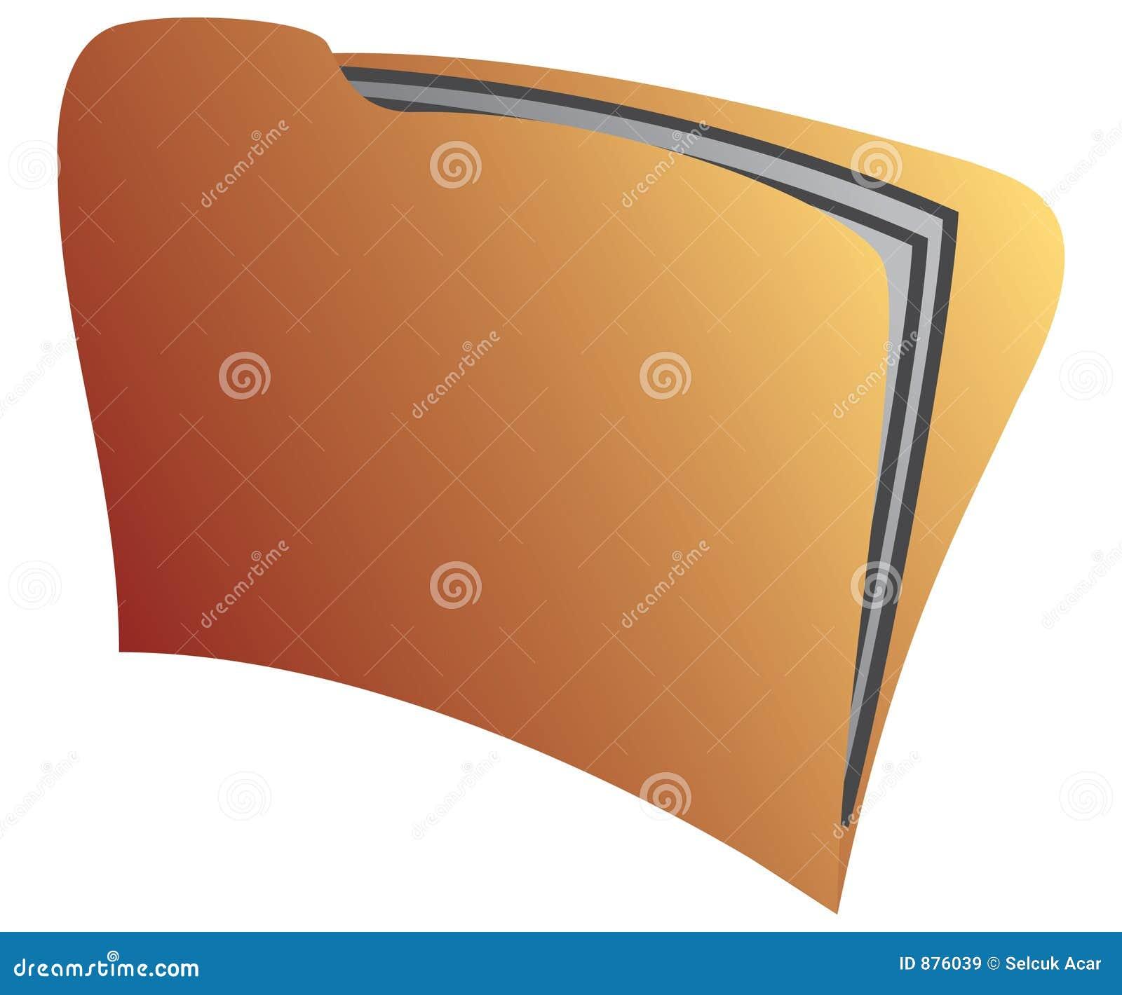 Folder żółty