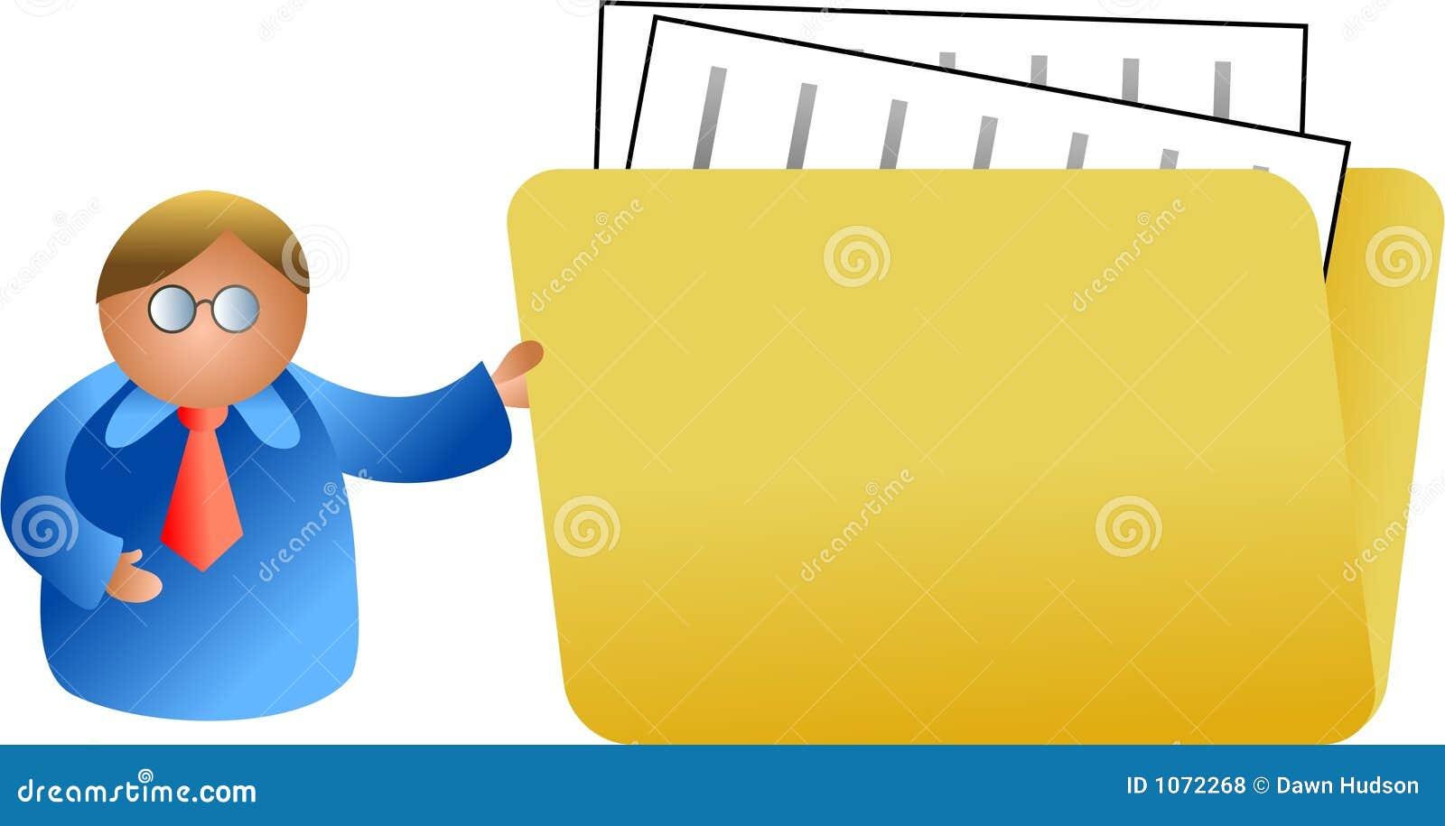 Folder ludzi