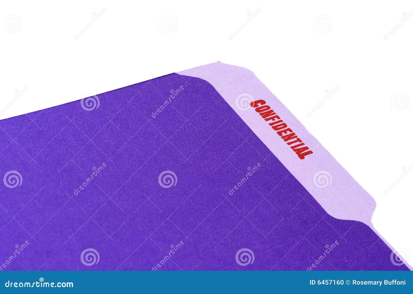 Folder poufne