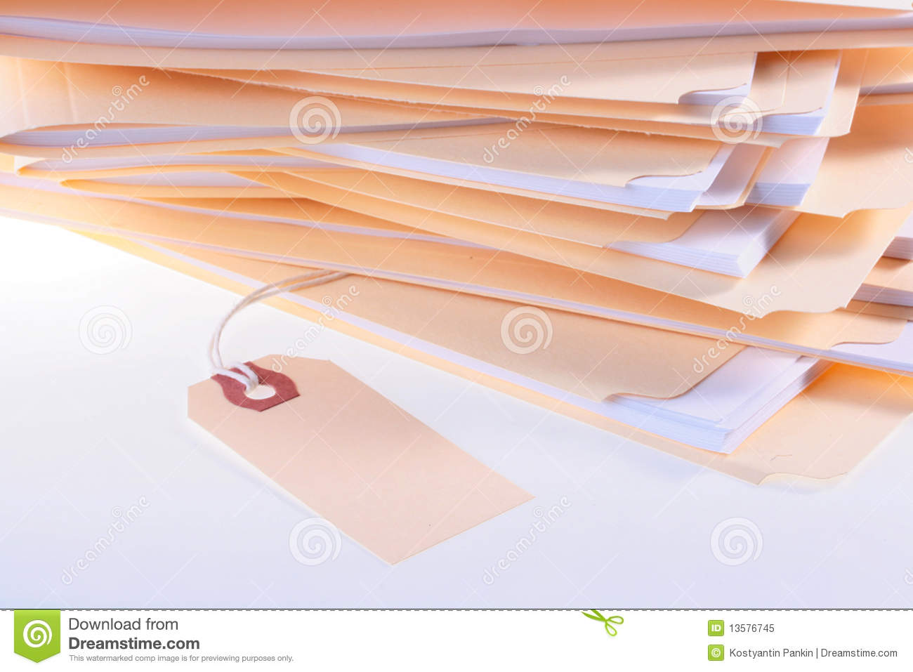 Folders with office documents