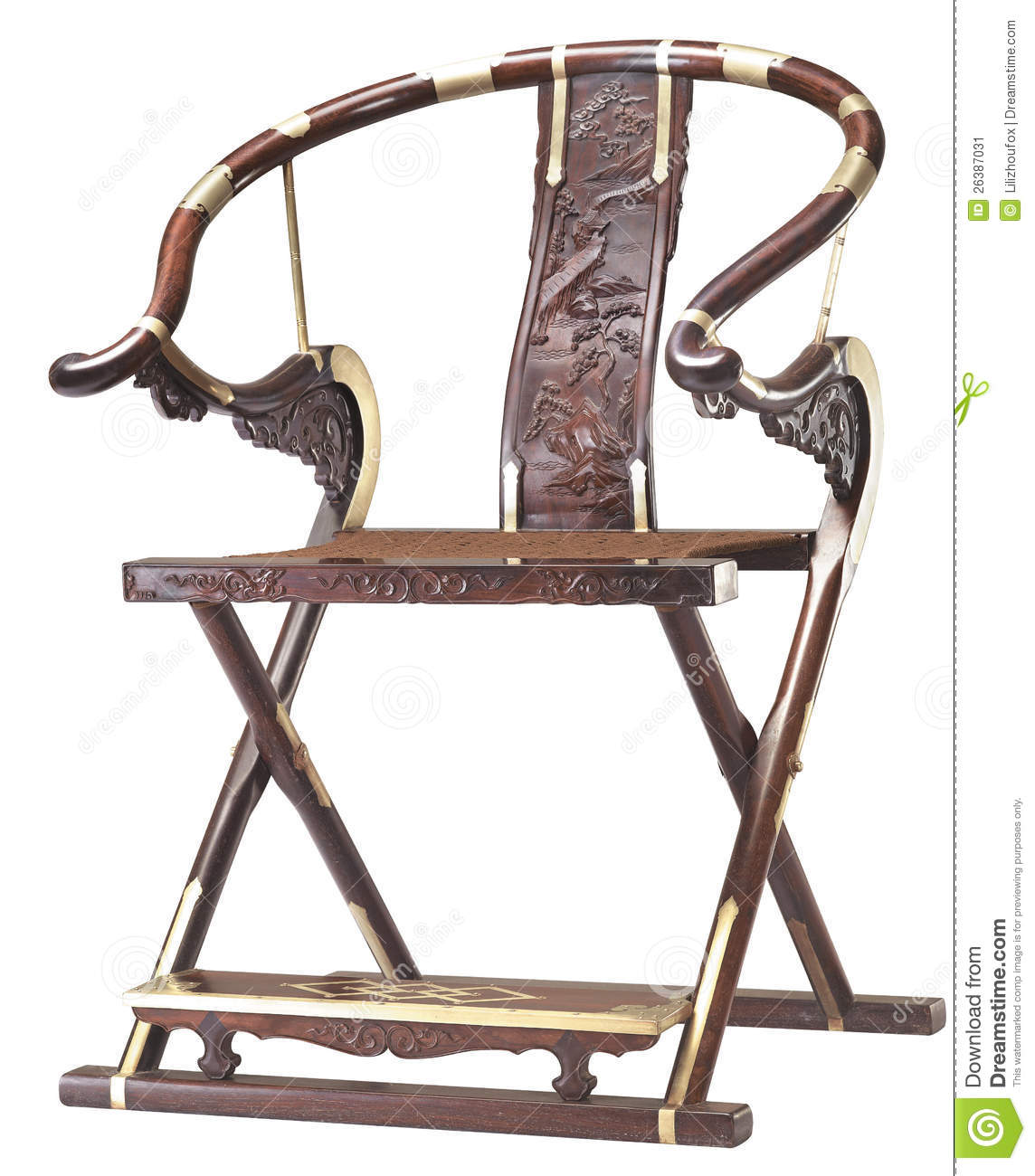 Folding Chair Of Chinese Classic Furniture