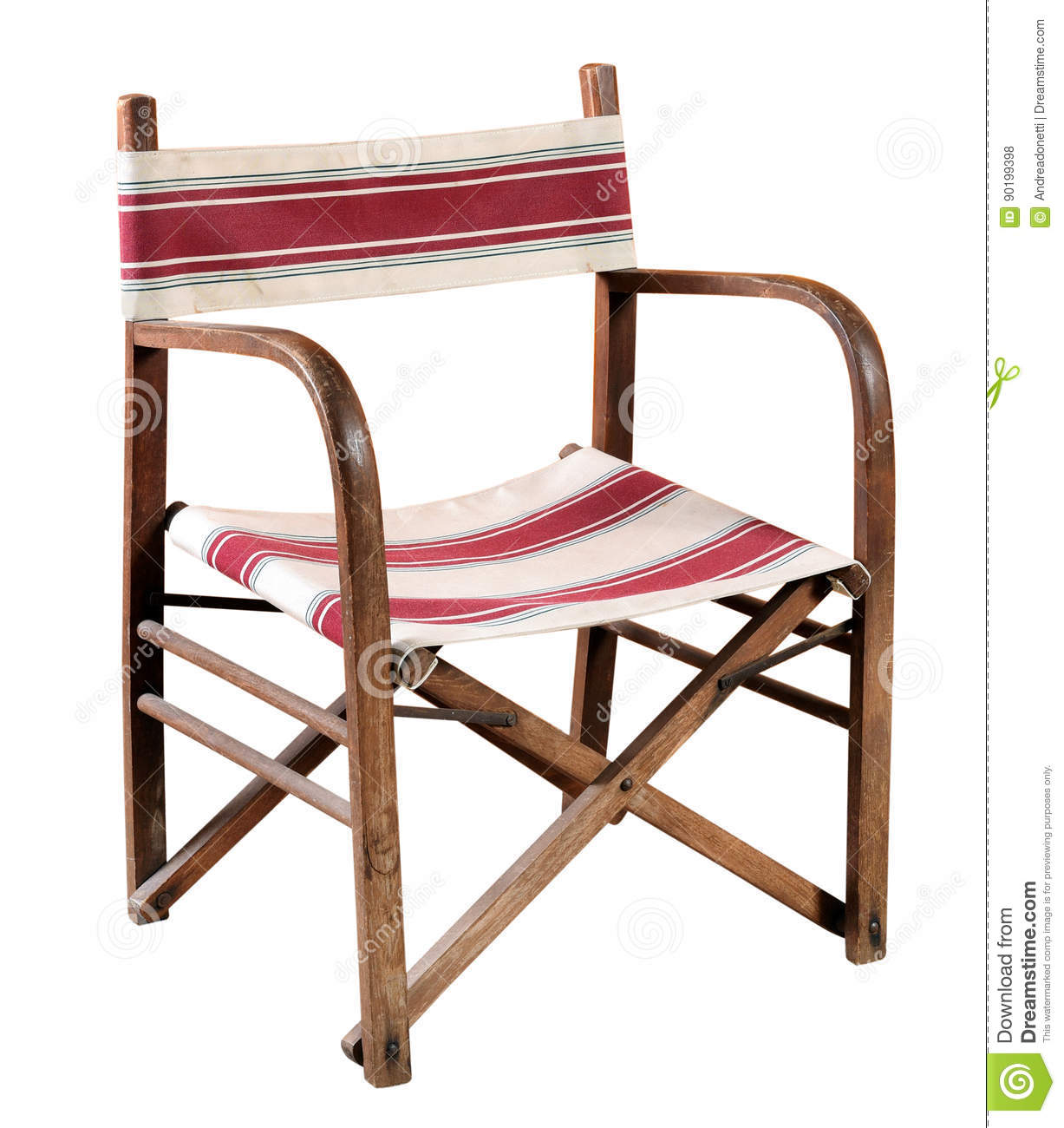 Folding wooden armchair stock photo. Image of chair ...