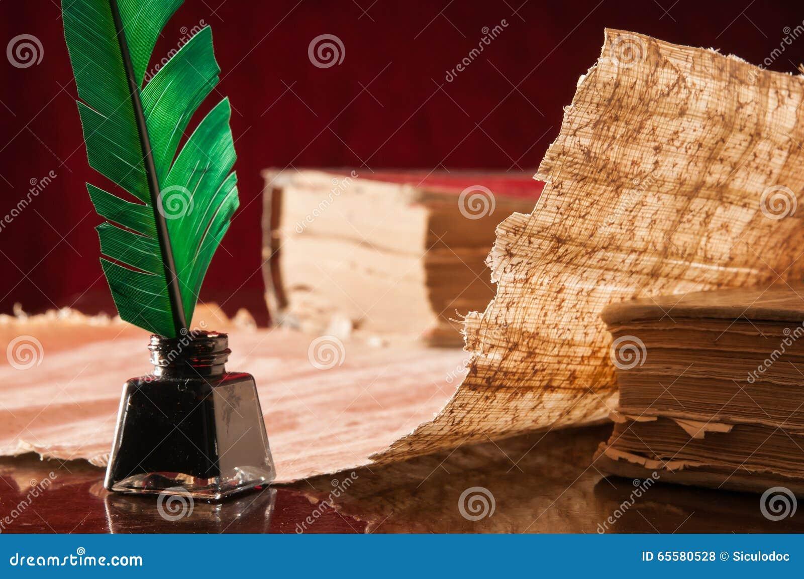 Folha da pena e do papiro