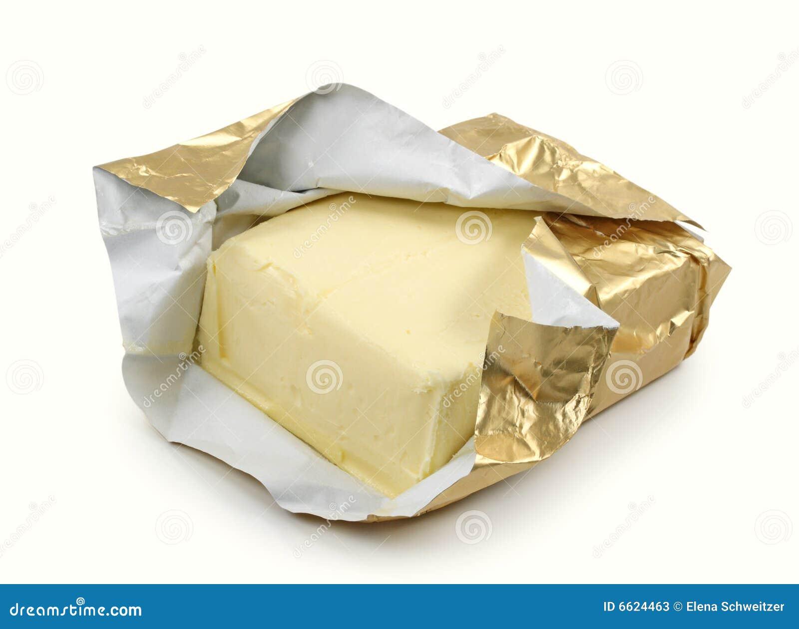 Foliowy masła złoto
