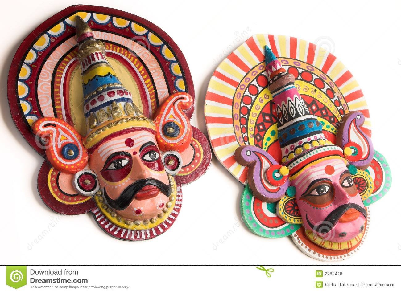 Folk Dance Puppets Of India Stock Photo Image Of Blue