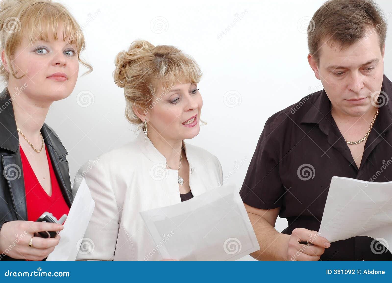 Folk för affärsgrupp