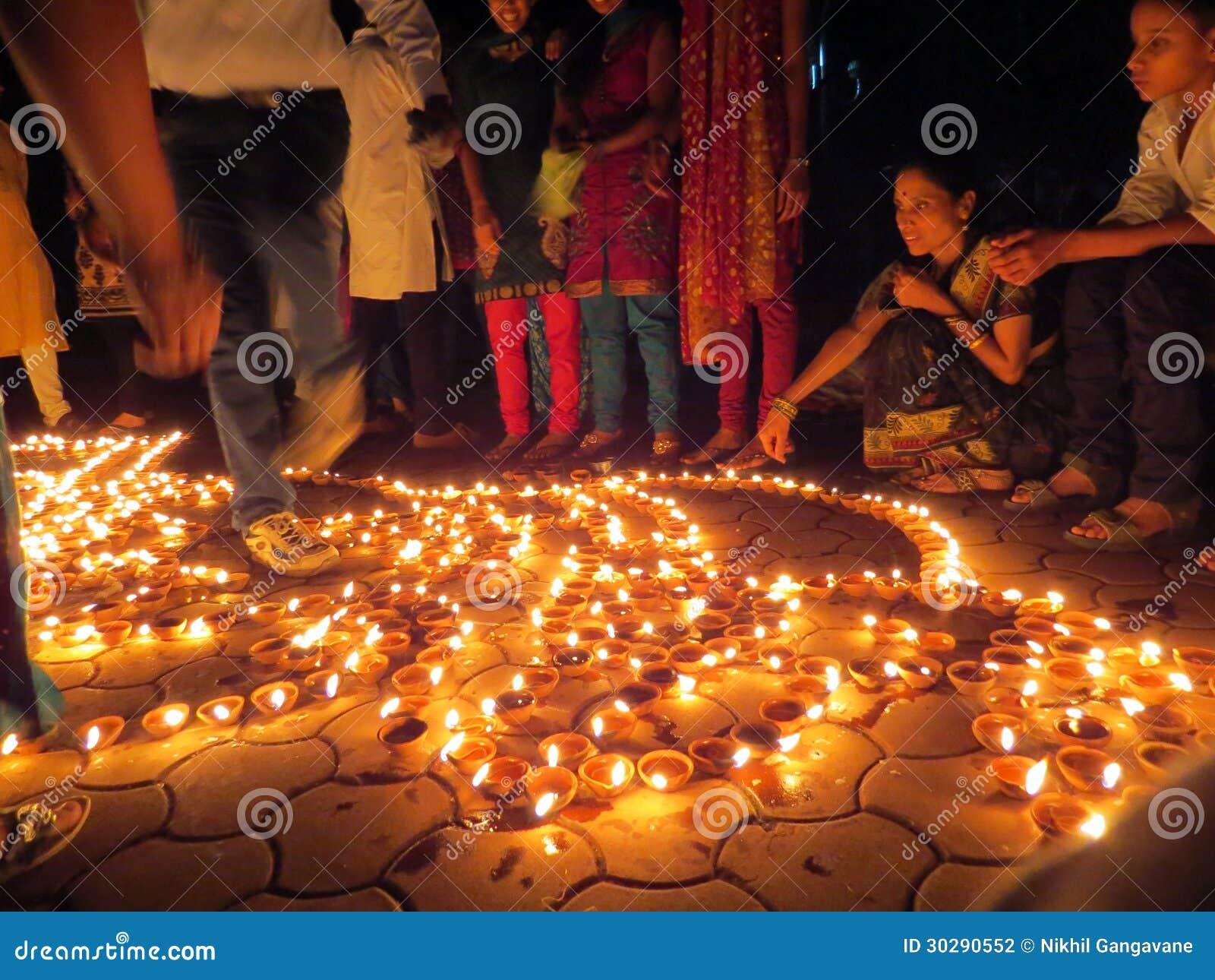 Diwali folk