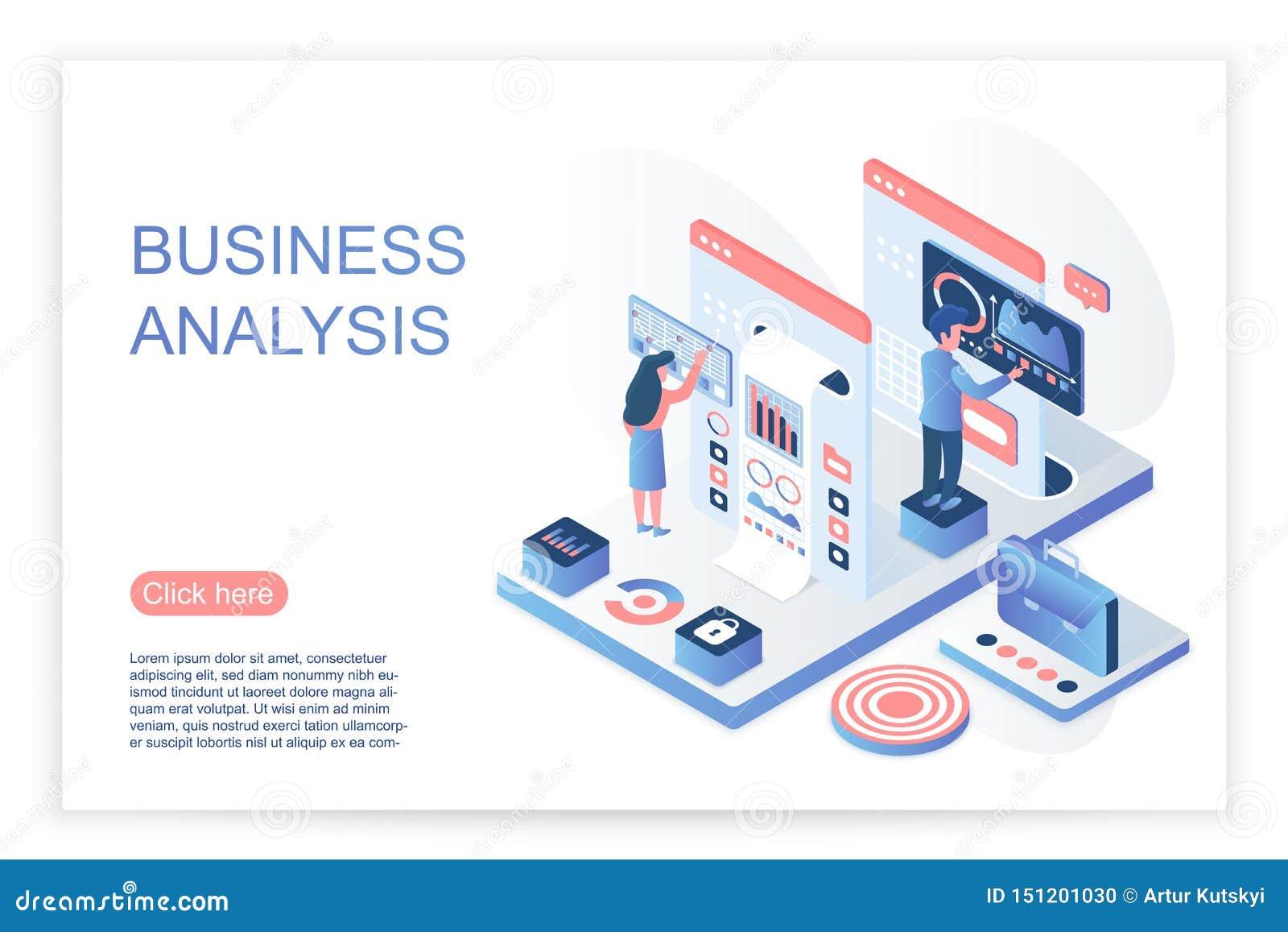 Folk som påverkar varandra med den faktiska skärmen och att analysera affärsdata och diagram Sida för website för affärsdataanaly