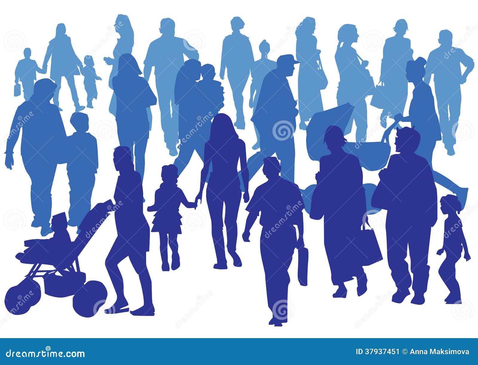 Folkmassa Fotografering för Bildbyråer - Bild: 37937451