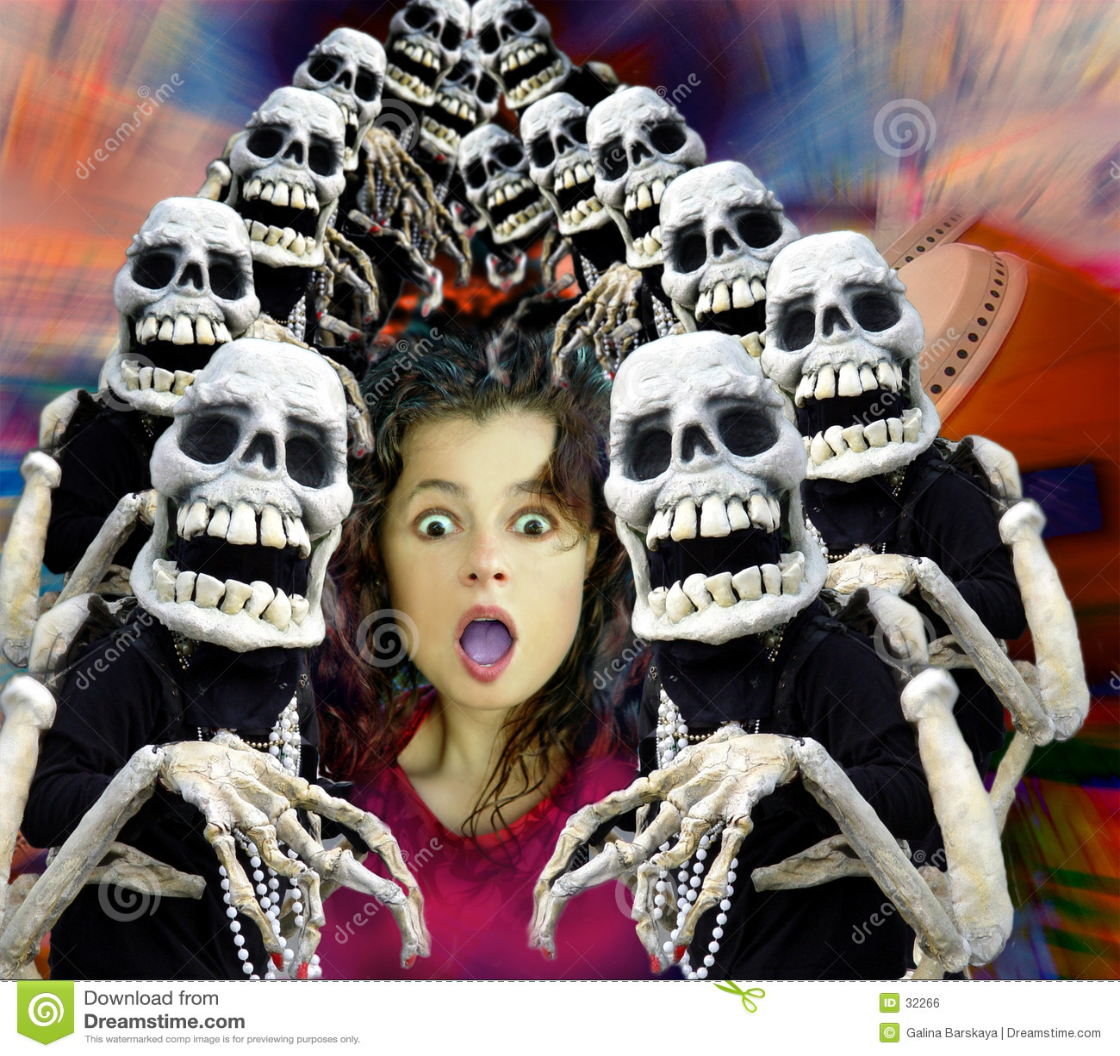 Folla di Halloween