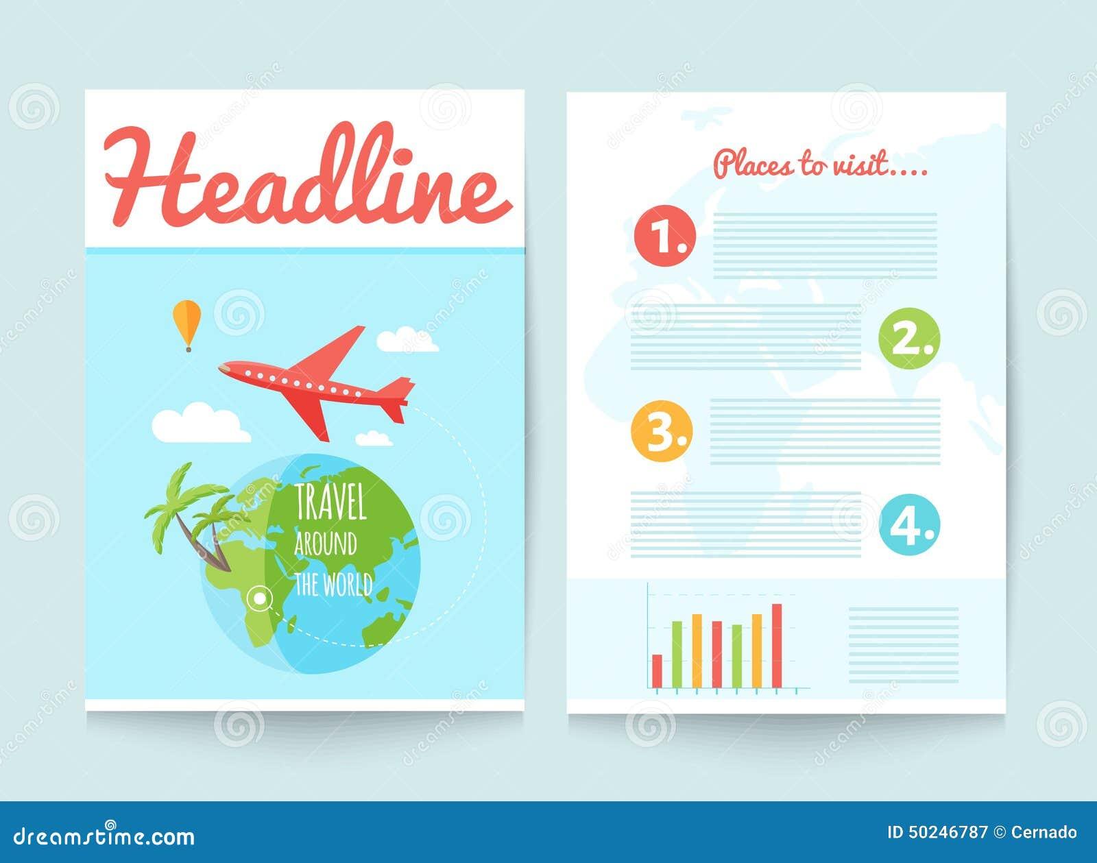 folleto de viaje