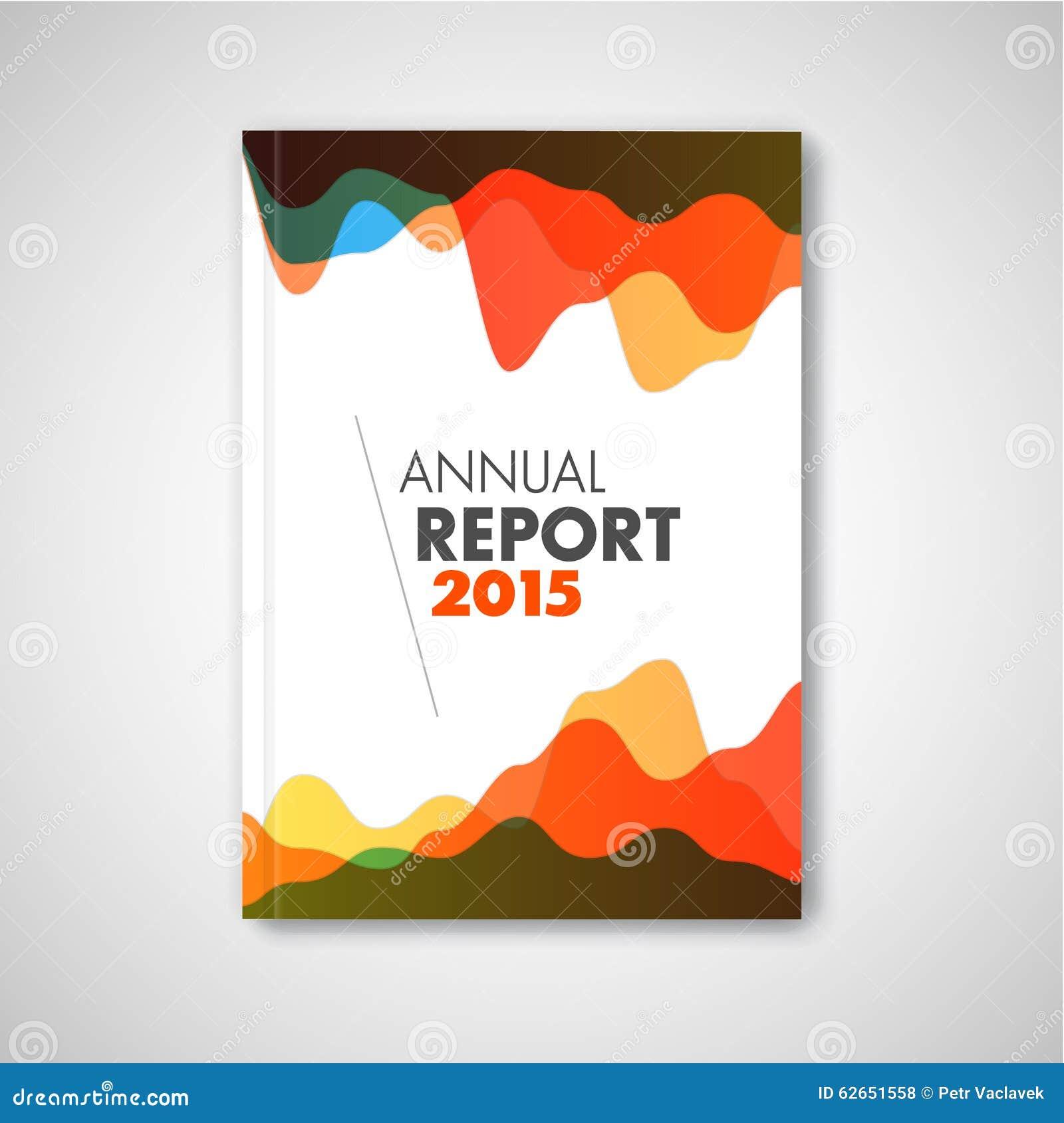 Folleto del extracto del vector/plantilla modernos del diseño del informe