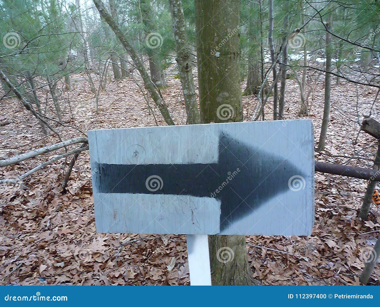 Follow the arrow stock photo  Image of path, arrow, wherever