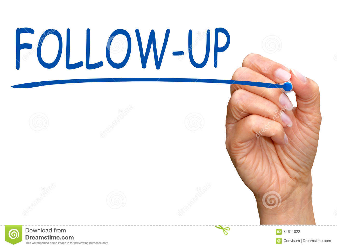 Follow up Meeting Summary Stock Photo Image  Follow Up Meeting Summary Female Hand Blue Marker Writing Text White Background  Stock Photo Follow Up Meeting Summary Female Hand Blue Marker Writing Text White Background Image