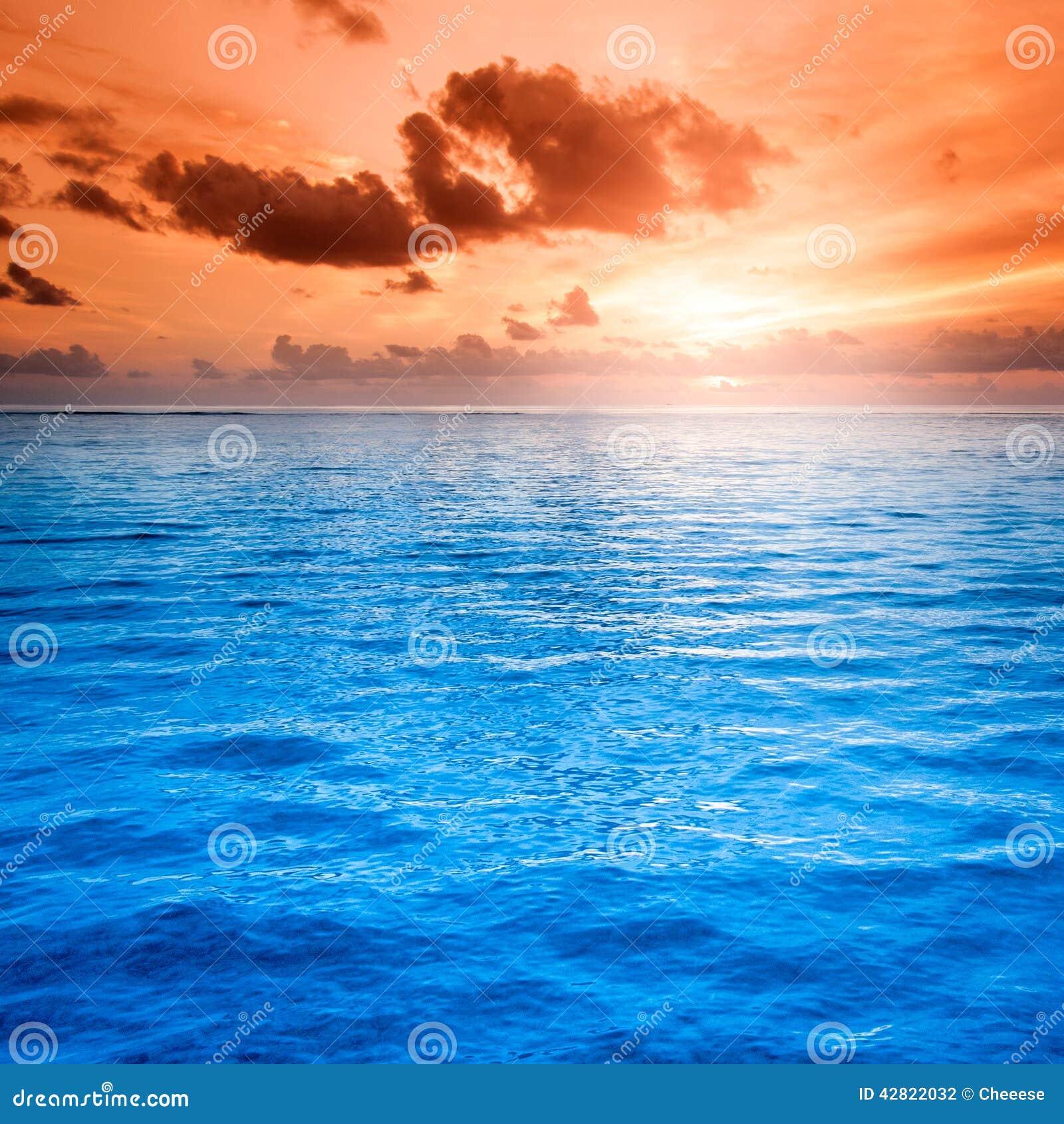 ocean and beach sunset scene stock photos image 29230423