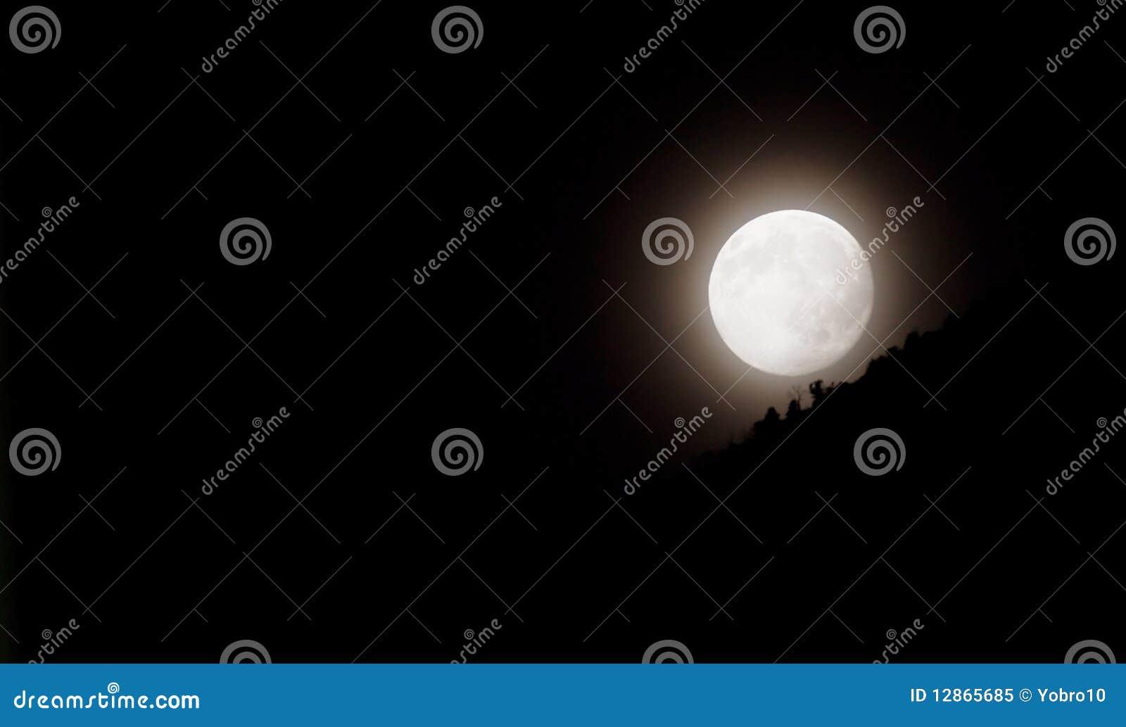 Folował księżyc