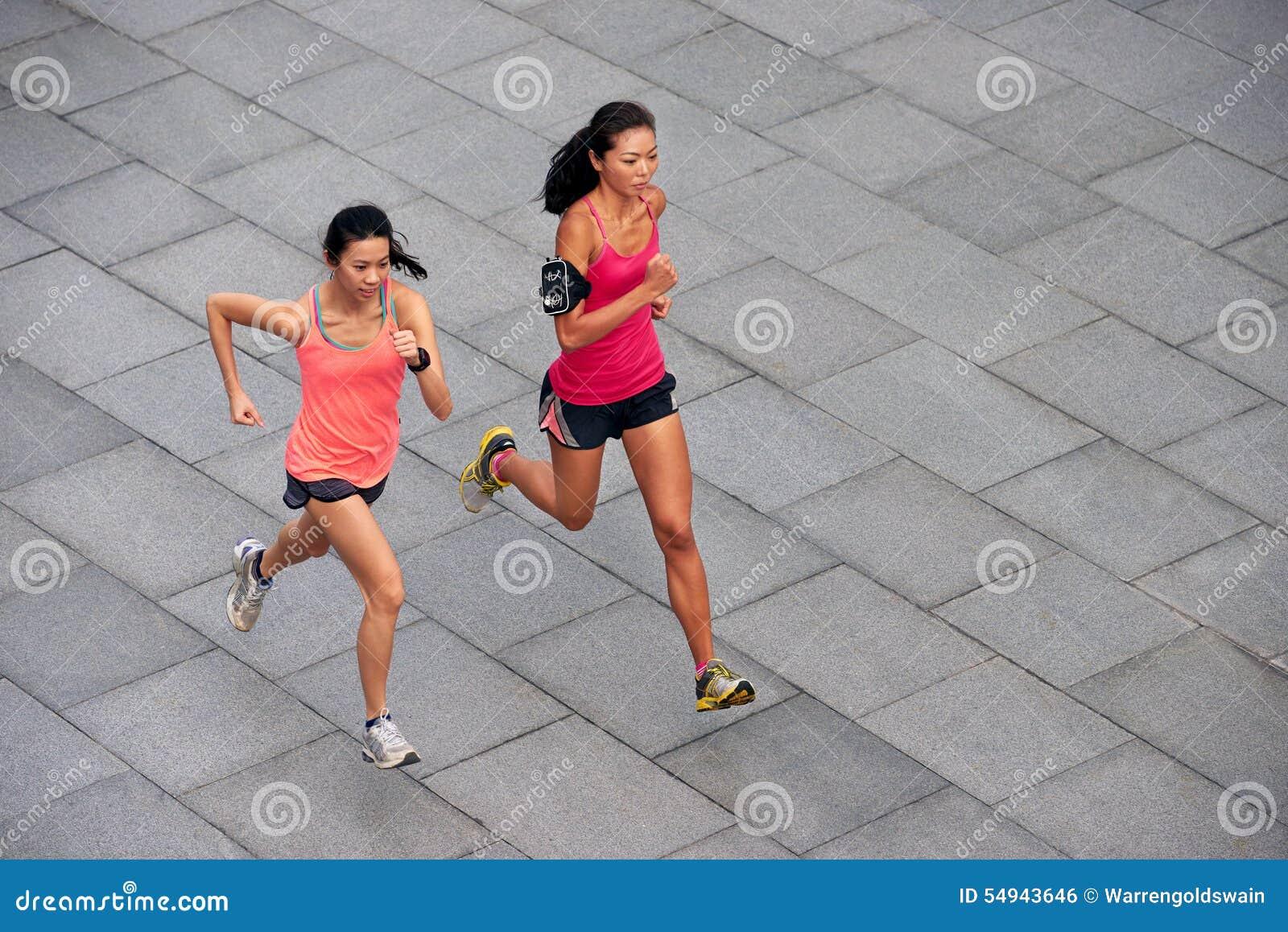 Fonctionnement de femmes de forme physique