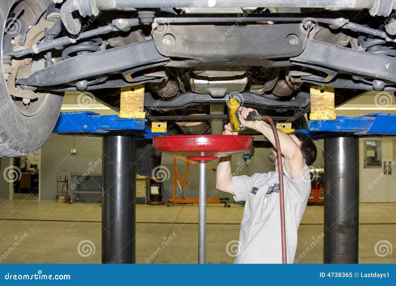 Fonctionnement de mécanicien