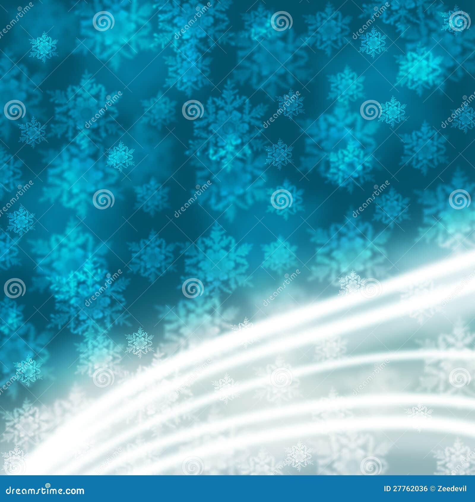 Fond élégant de Noël avec des flocons de neige