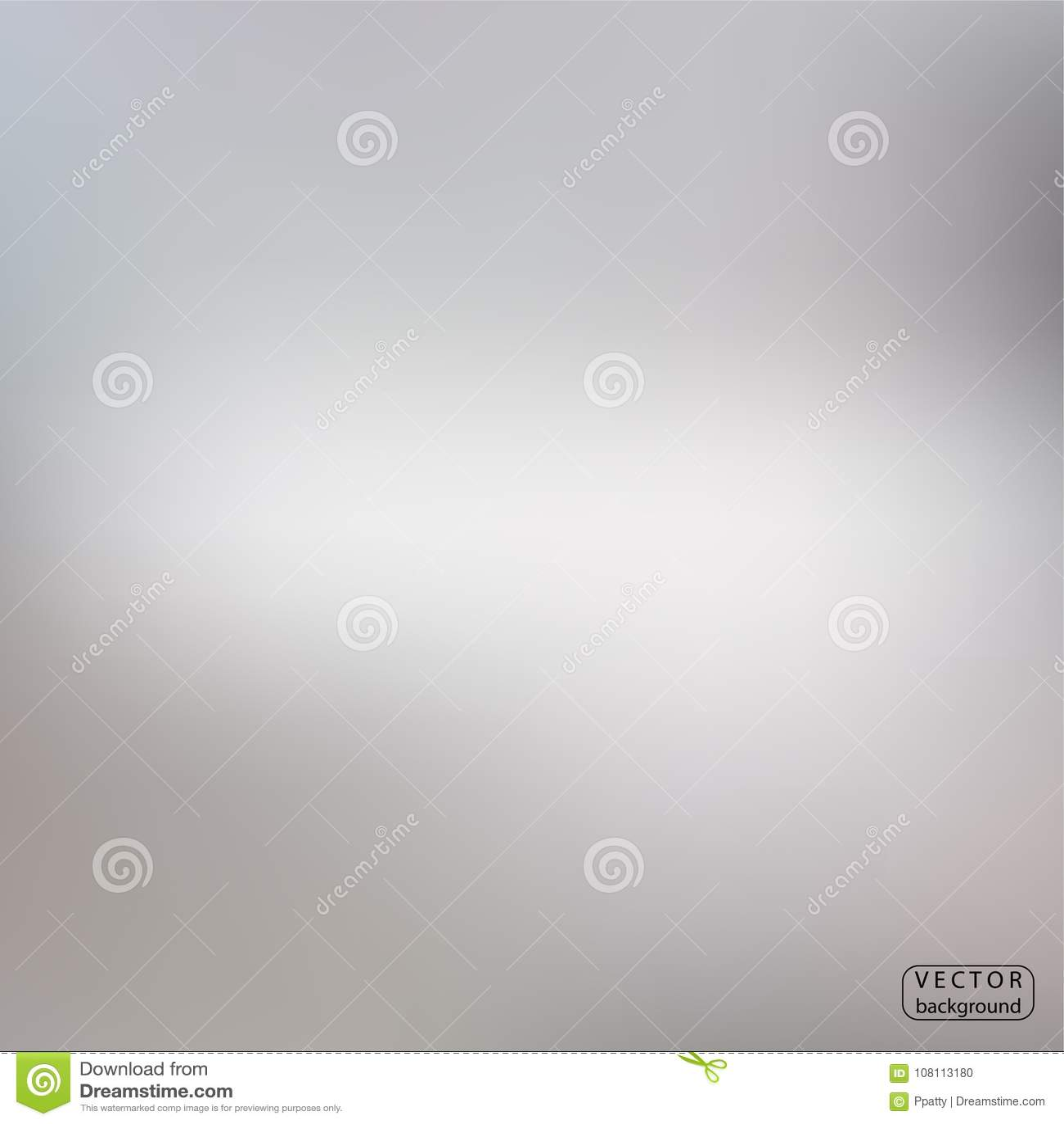 Fond abstrait argenté ภGray de tache floue