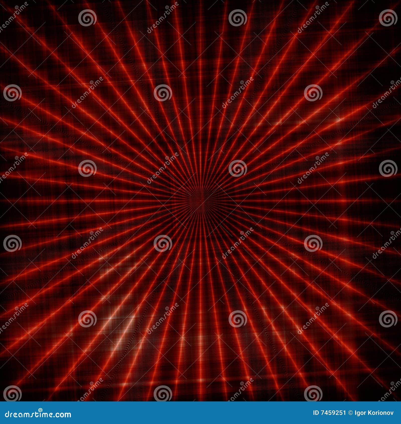 Fond abstrait avec la configuration des lignes rouges