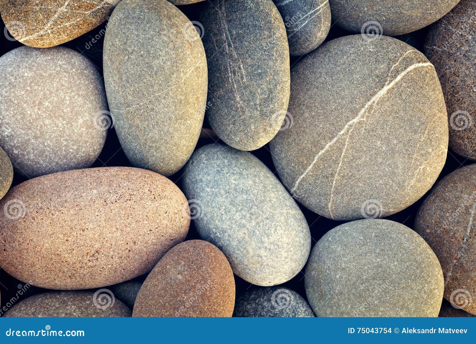 Fond abstrait avec le montant reeble rond sec de vintage de pierres