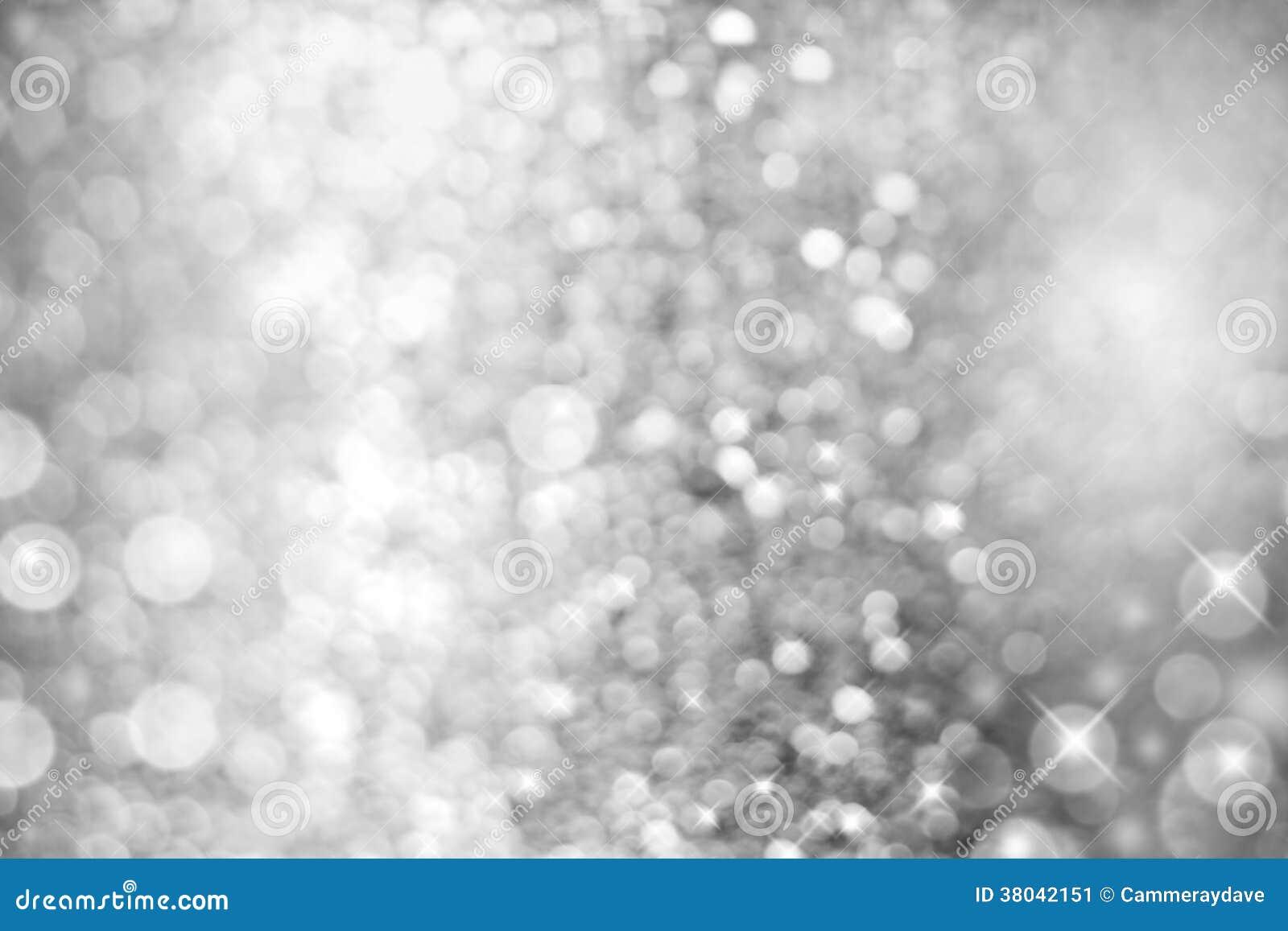 Fond abstrait blanc argenté