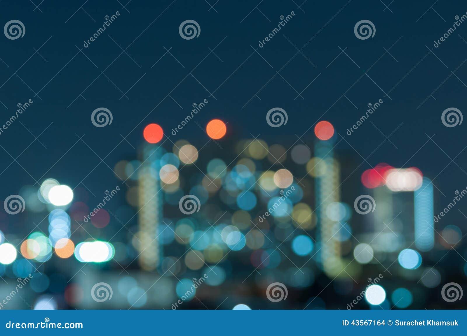 Fond abstrait de lumières