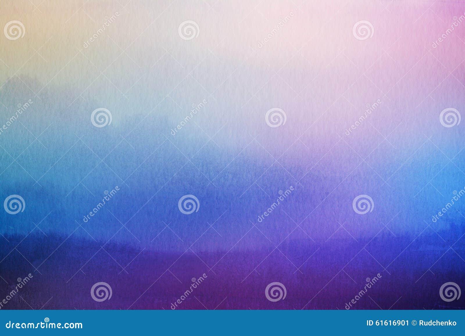 Fond abstrait de nature de tache floue Recouvrement d aquarelle