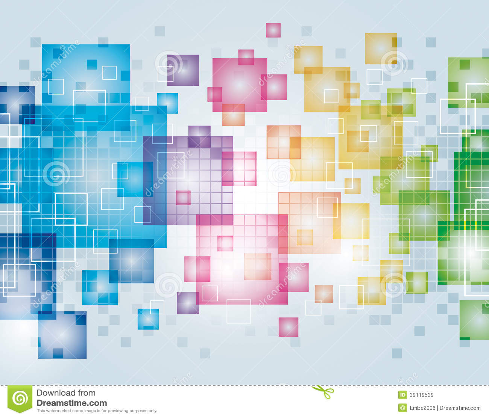 Fond abstrait de pixel