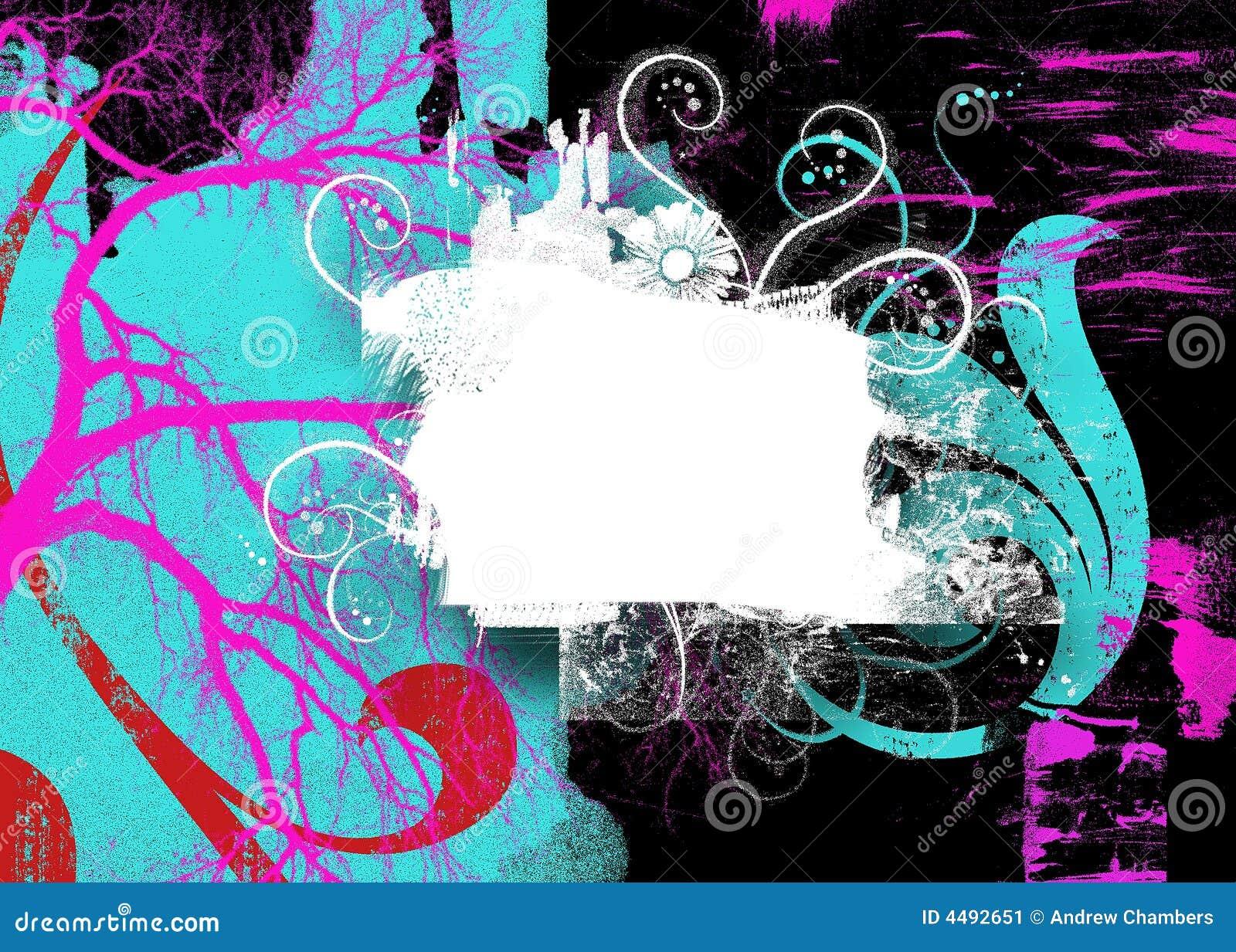 Fond abstrait de Swirly