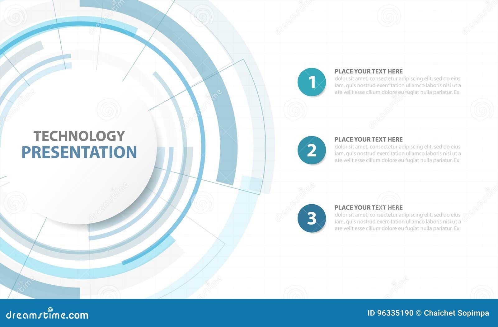 Fond abstrait de technologie numérique de Blue Circle, s futuriste
