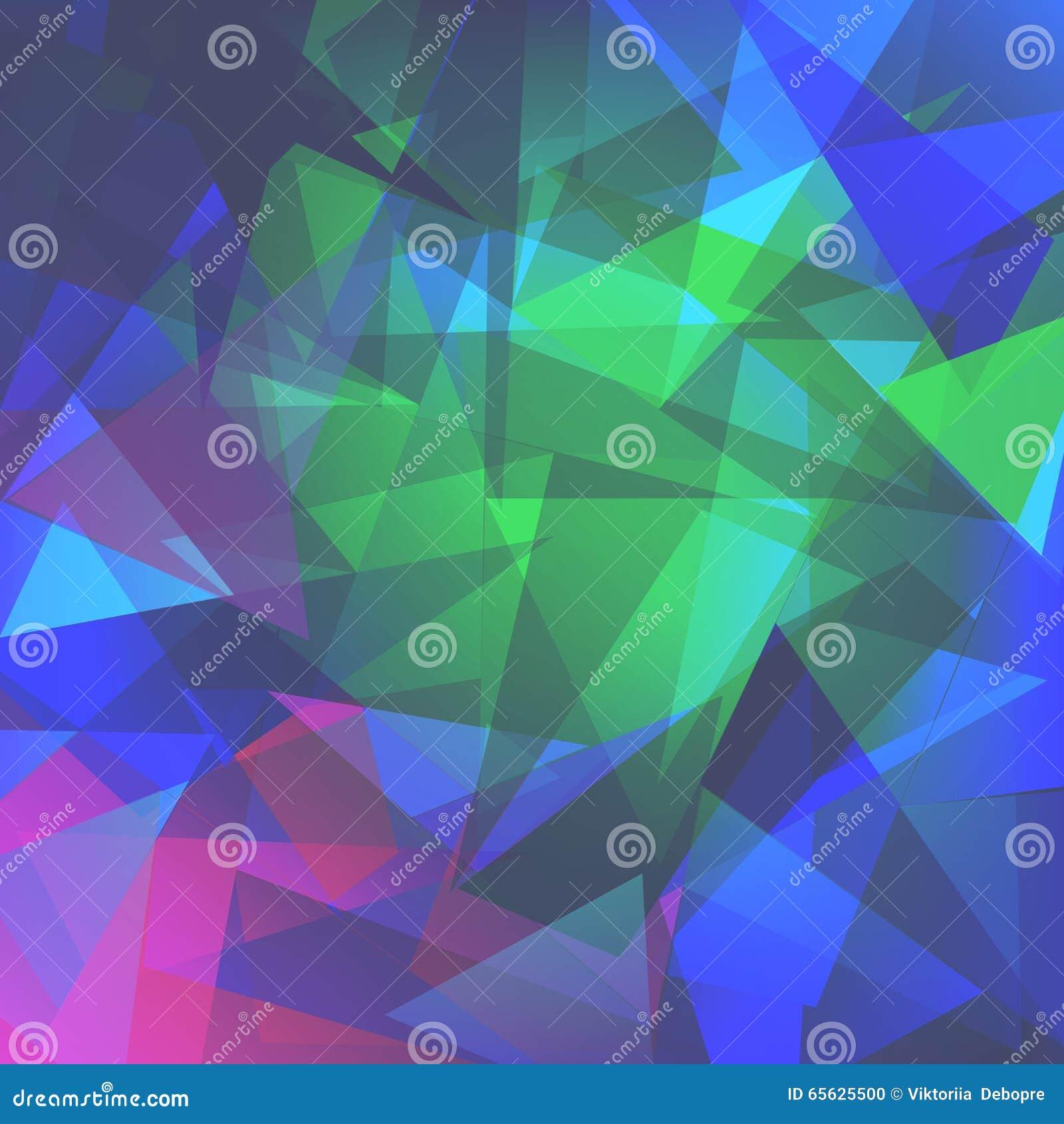 Fond abstrait de triangles pour l usage dans votre conception