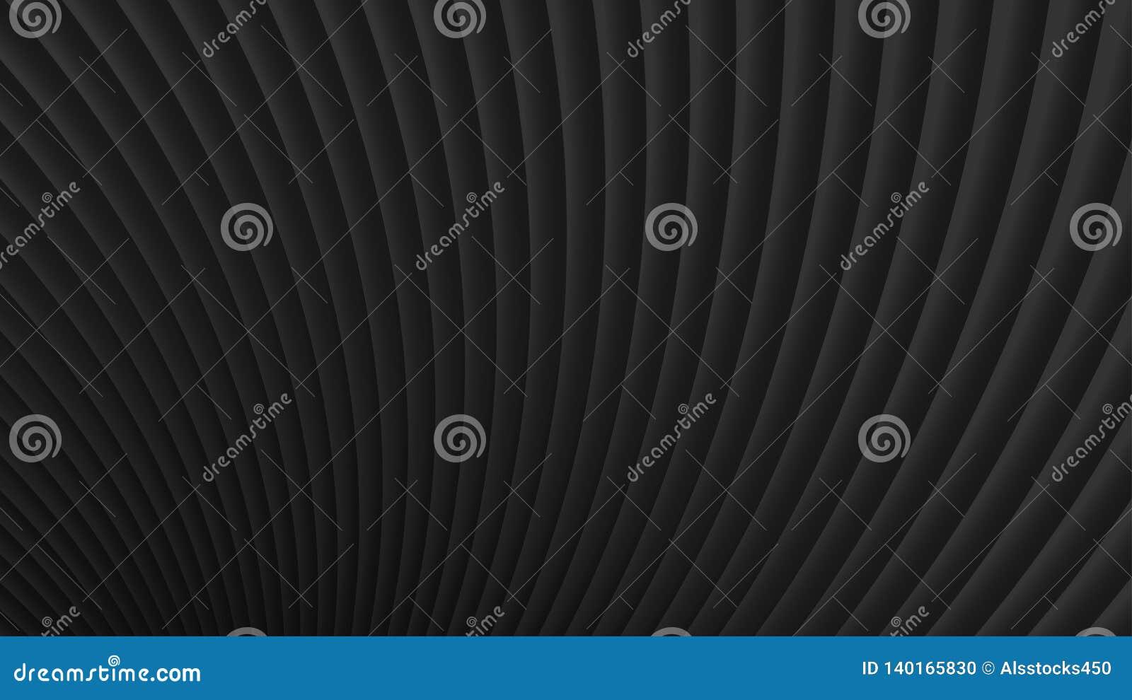 Fond abstrait des courbes