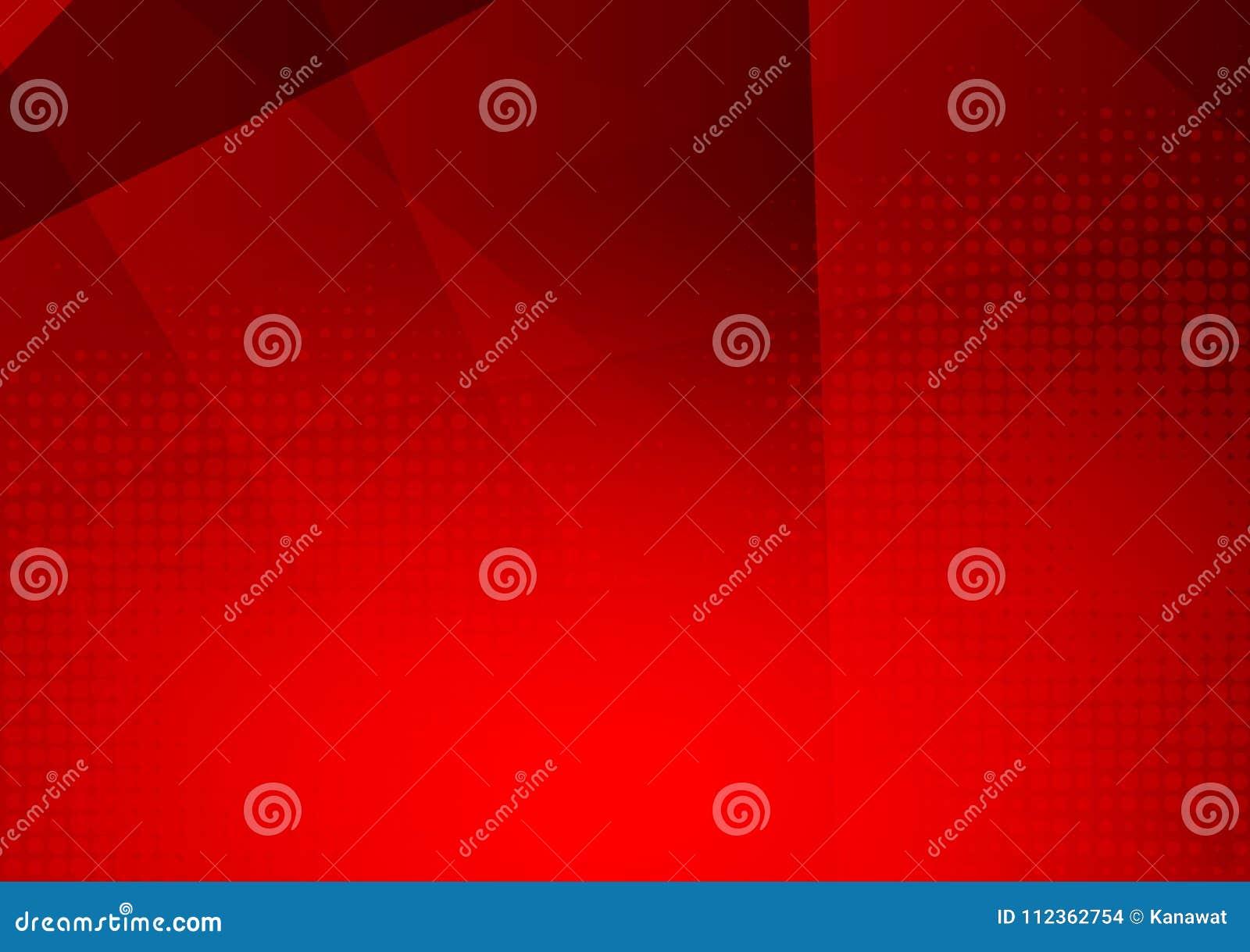 Fond abstrait géométrique futuriste moderne rouge de vecteur avec l espace de copie, conception moderne