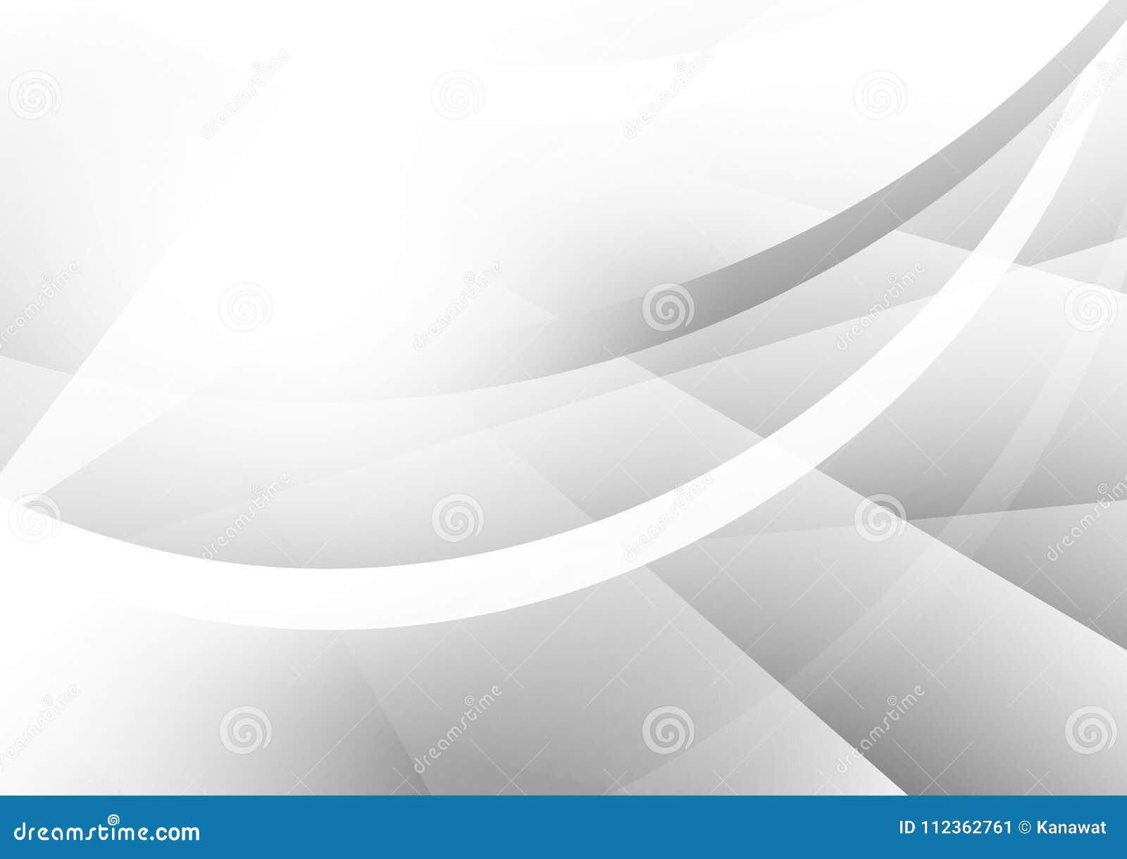 Fond abstrait géométrique gris et argenté de vecteur avec l espace de copie, conception moderne