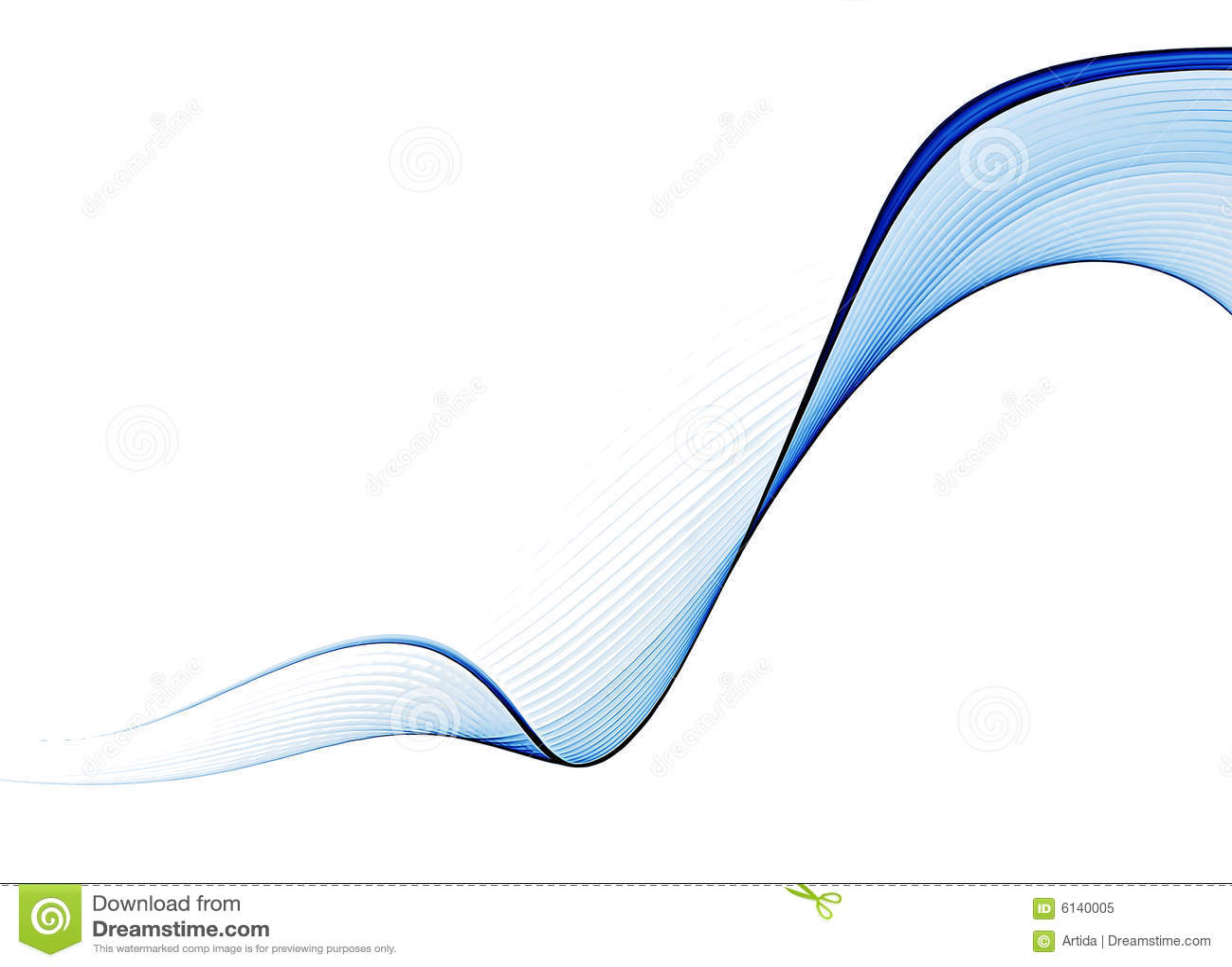 Préférence Fond abstrait ondulé bleu illustration stock. Image du dessin  UZ51