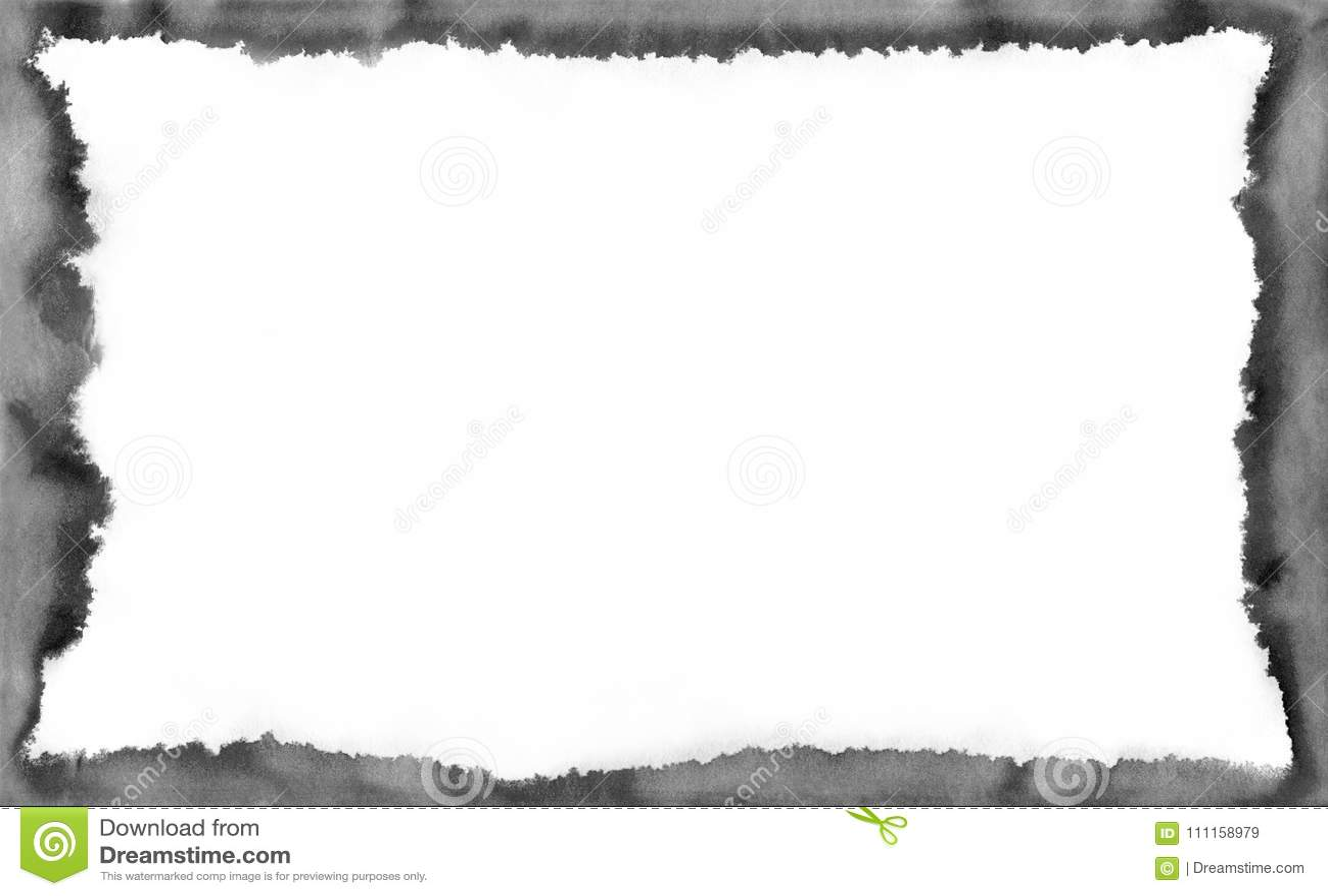 fond abstrait pour votre texte ou photo cadre chimique noir et blanc