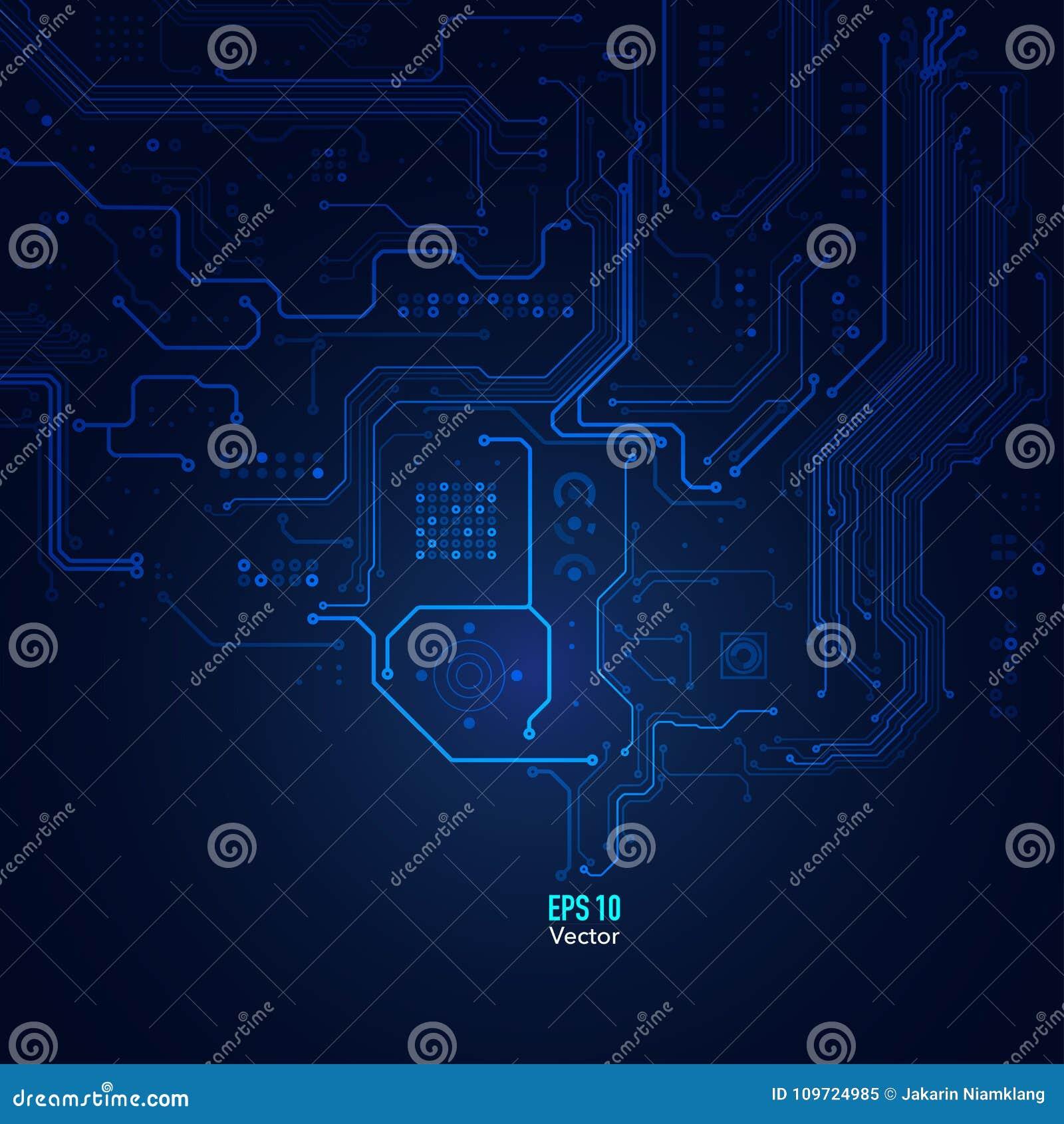 Fond abstrait technologique