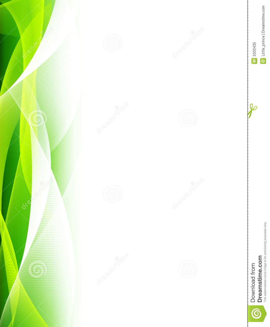 Fond Abstrait Vert Illustration Stock. Illustration Du
