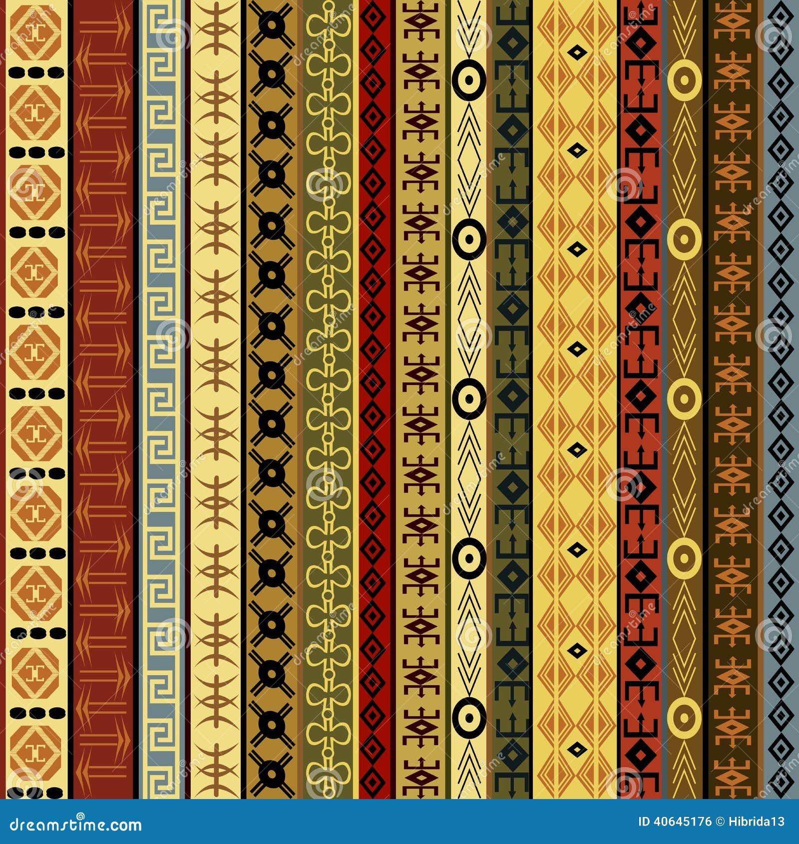 Fond africain de motifs illustration stock image du tissu - Motifs africains maternelle ...