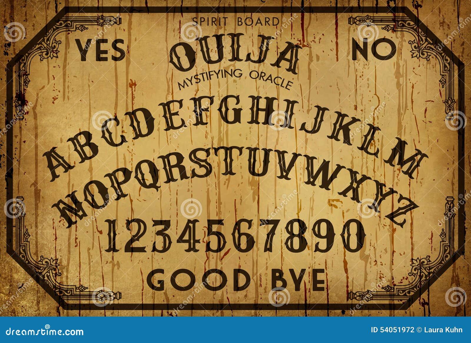 Fond Art Ouija Board