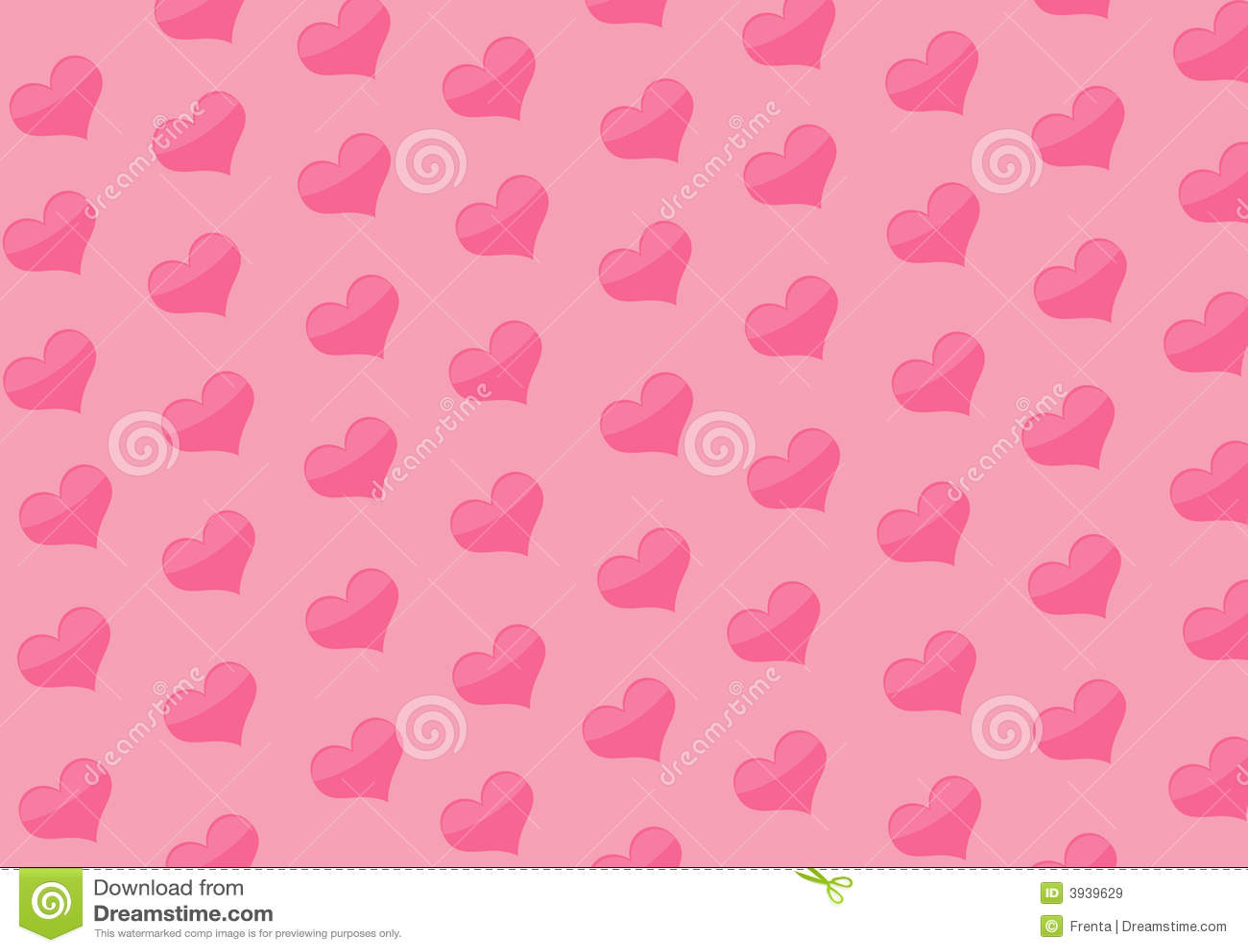 Fond Avec Des Coeurs De Couleur Rose Images Libres De
