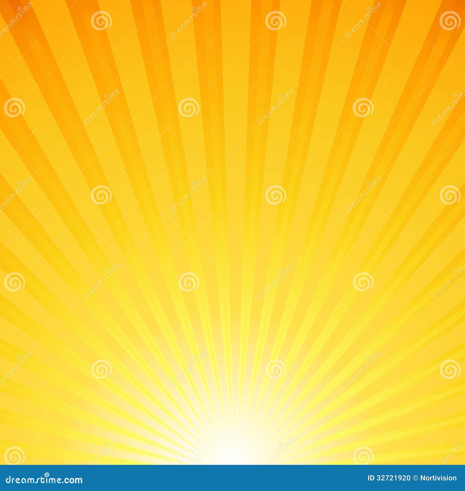 Fond avec des rayons du soleil